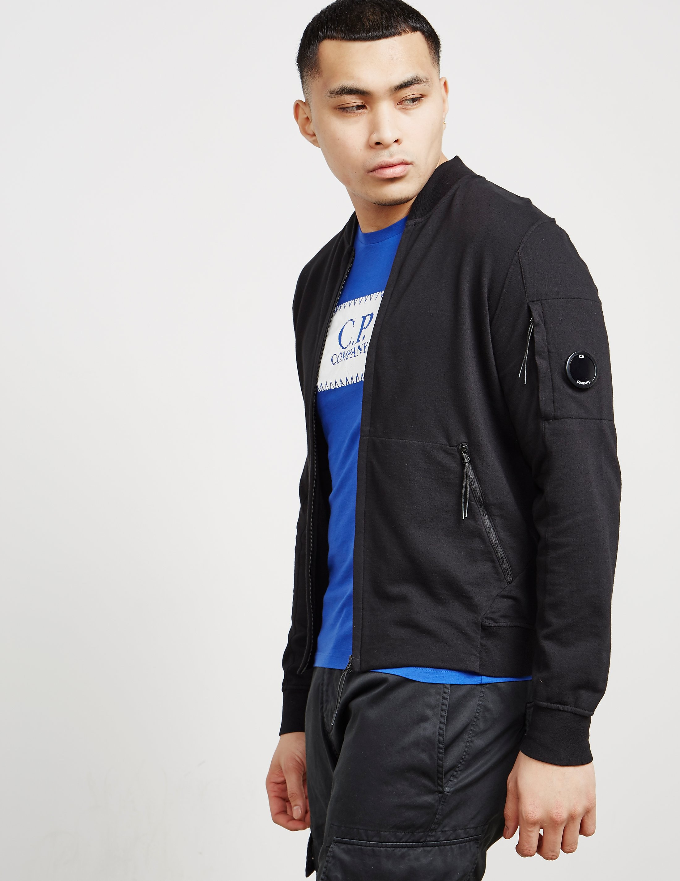 CP Company Lens Cotton Bomber Jacket