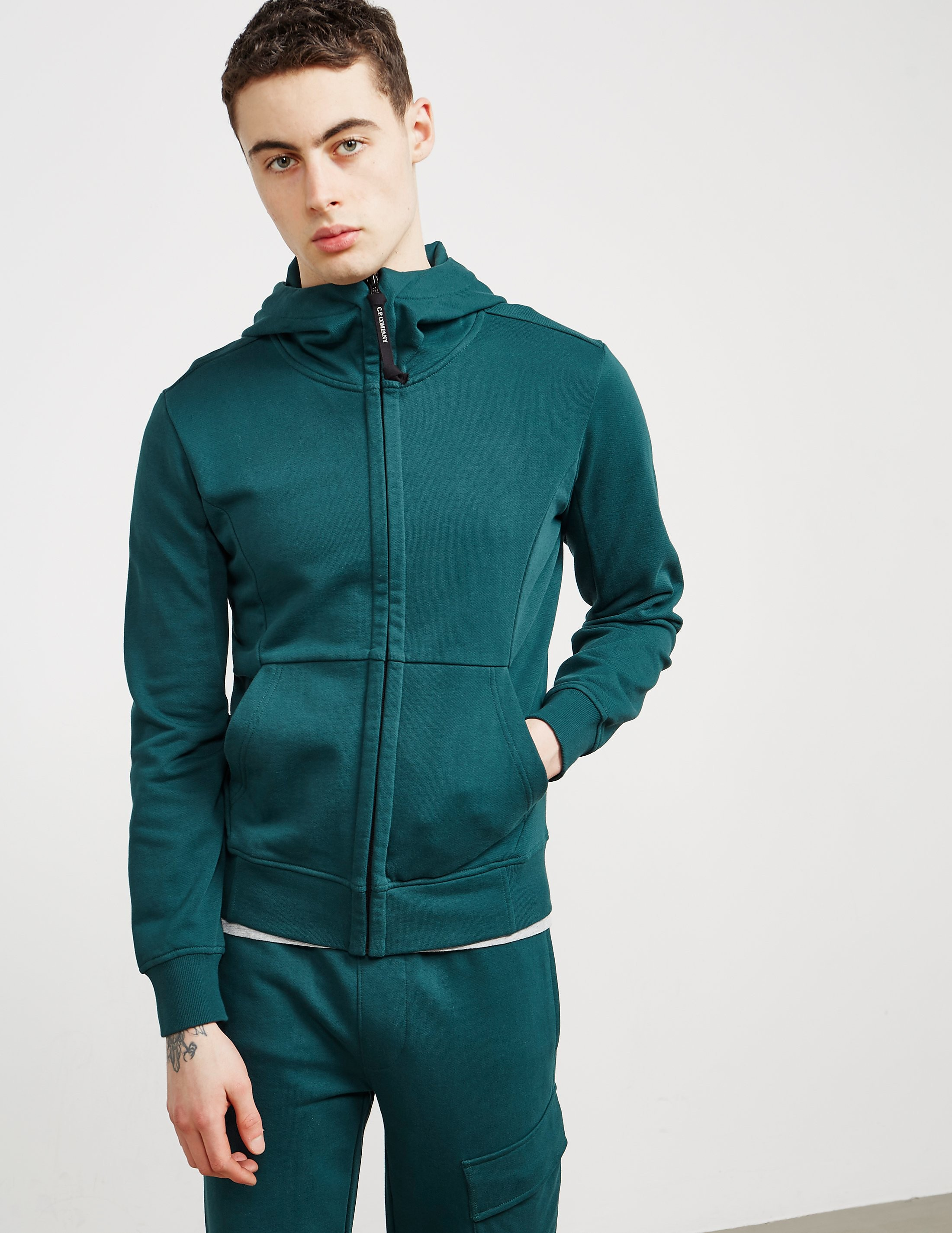 CP Company Goggle Zip Up Hoody
