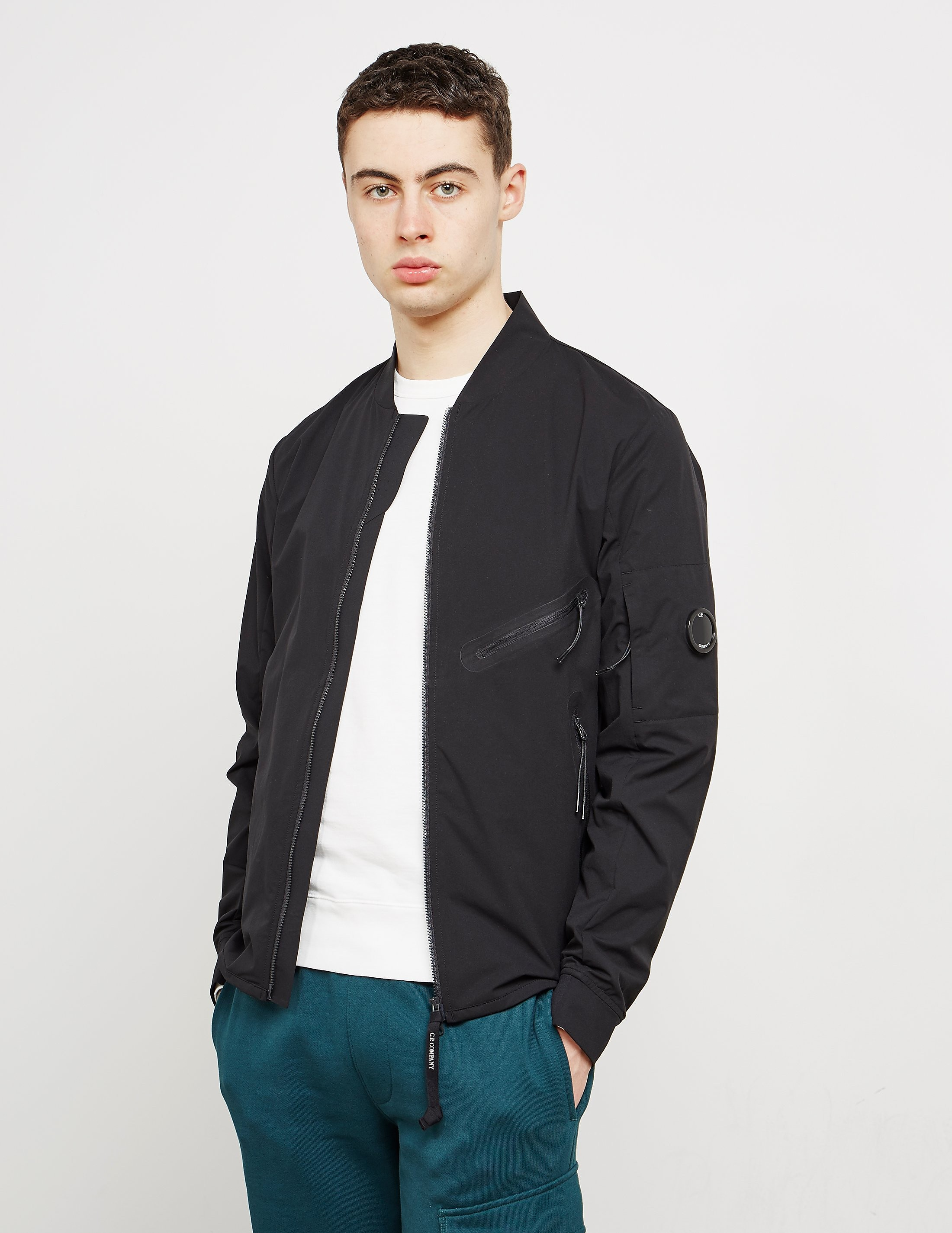 CP Company Pro Lightweight Hooded Bomber Jacket