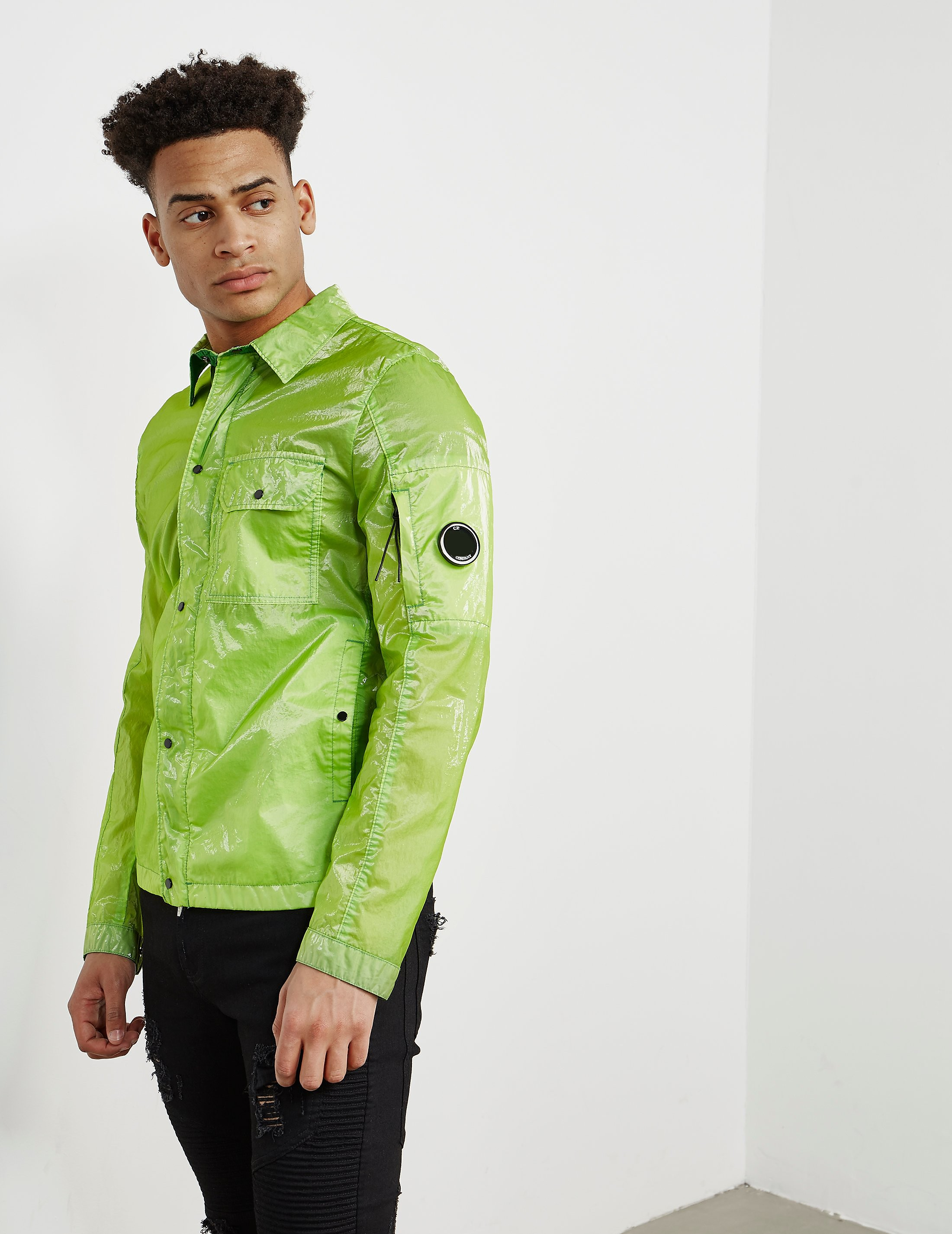 CP Company Toffee Lightweight Overshirt