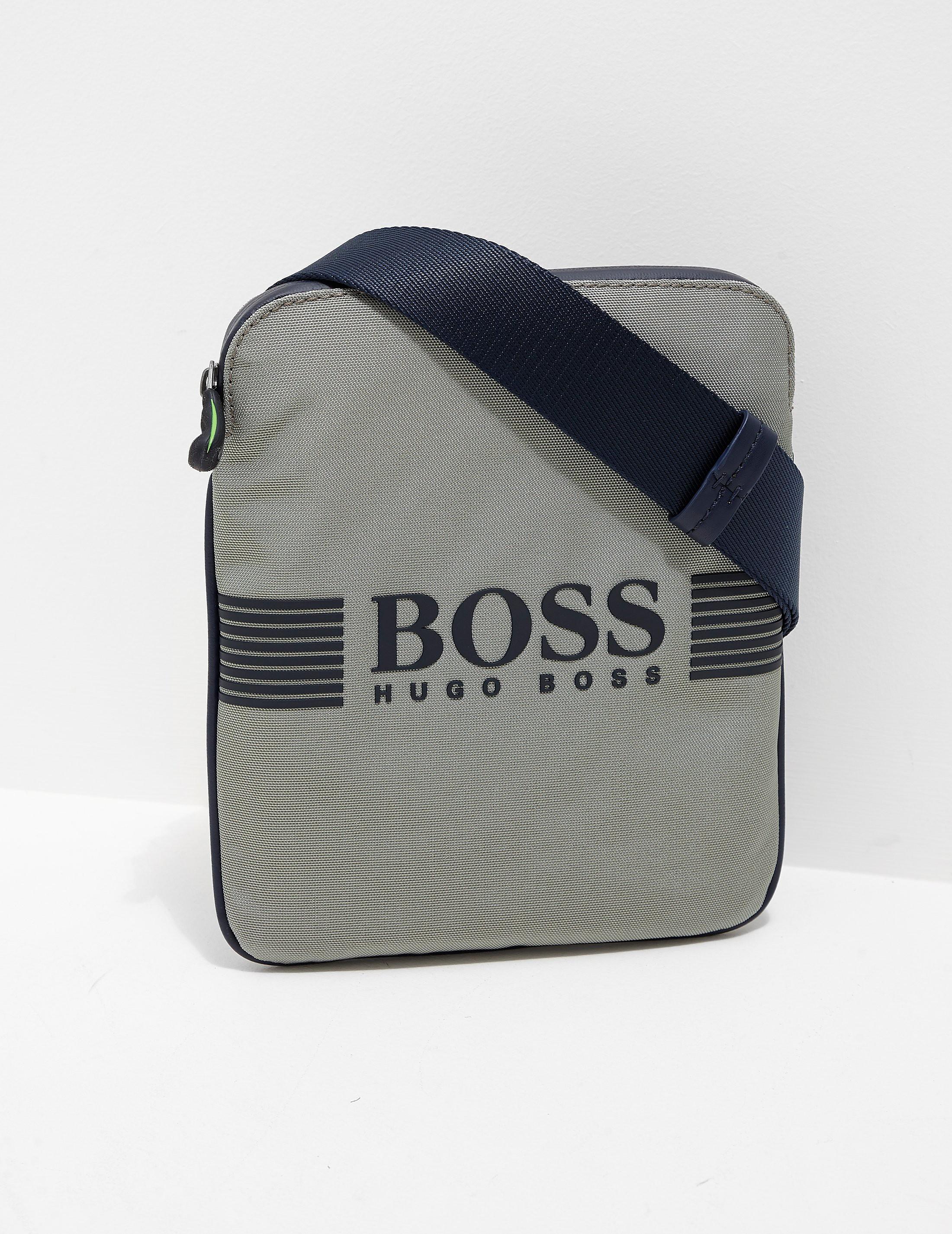 BOSS Green Pixel Small Pouch Bag