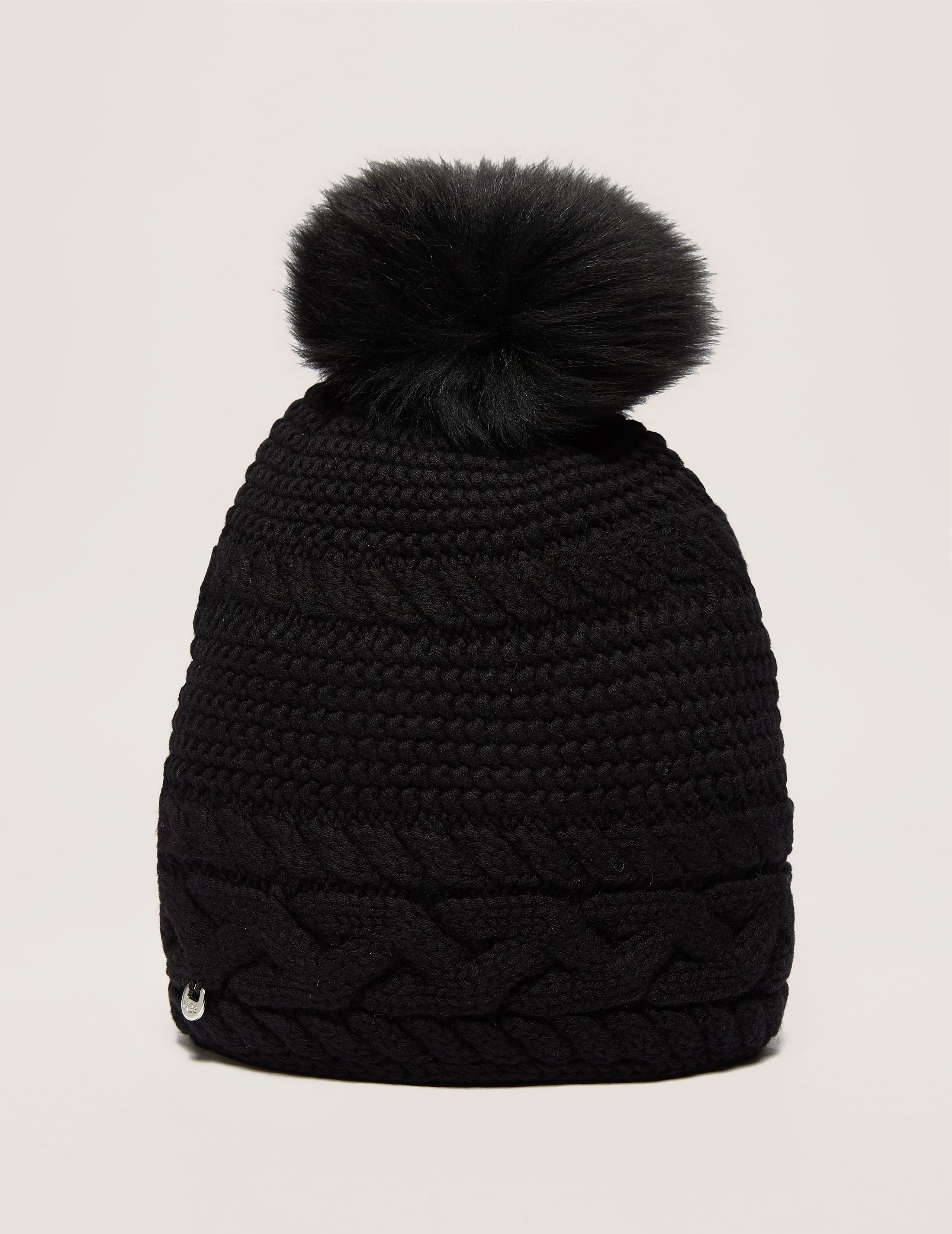 UGG Cable Knit Pom Hat