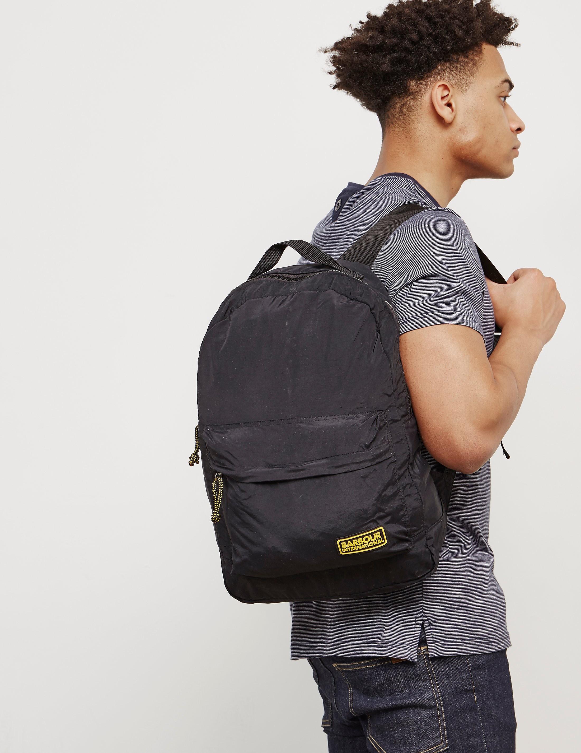 Barbour International Packaway Backpack