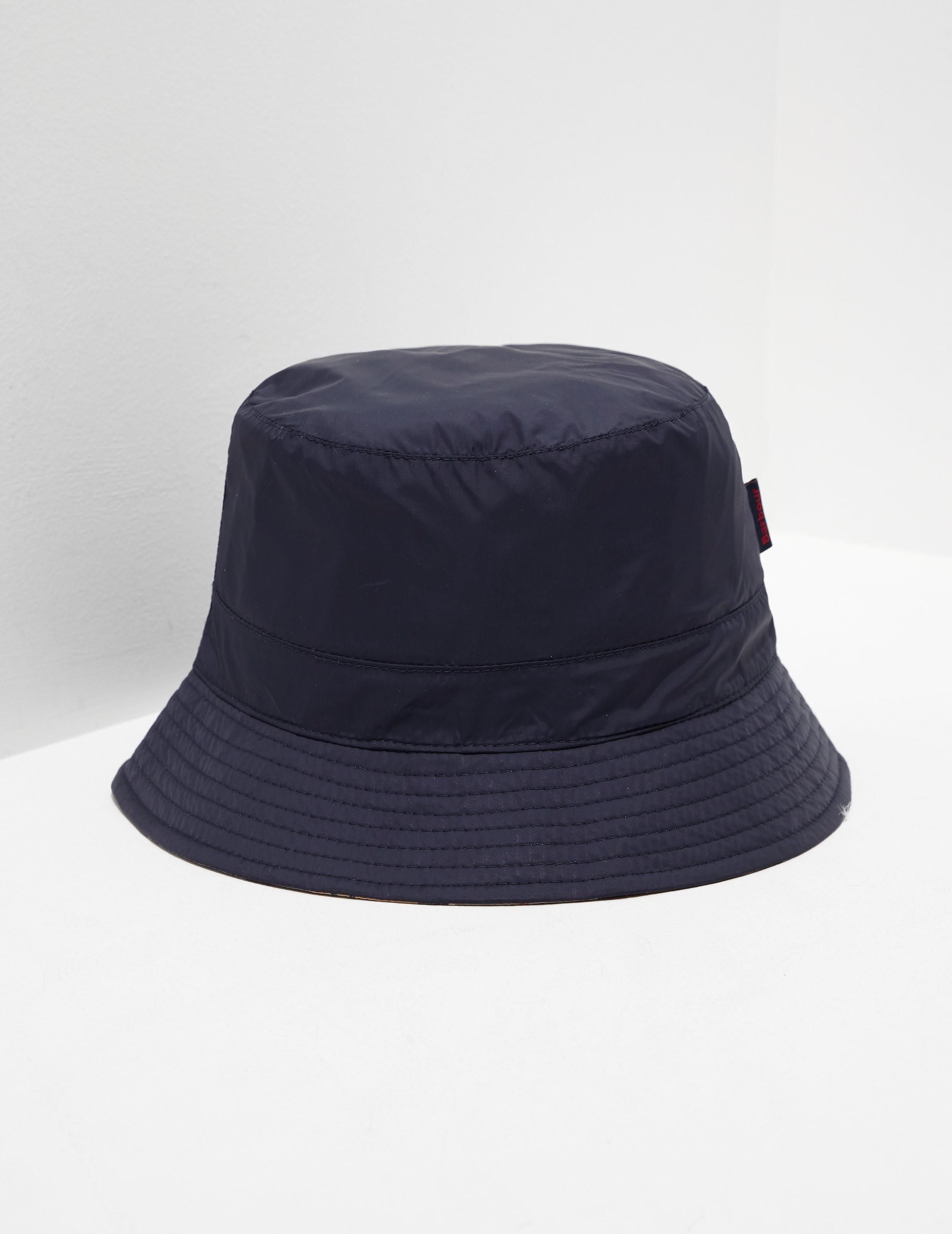 Barbour Reverse Tartan Bucket Hat