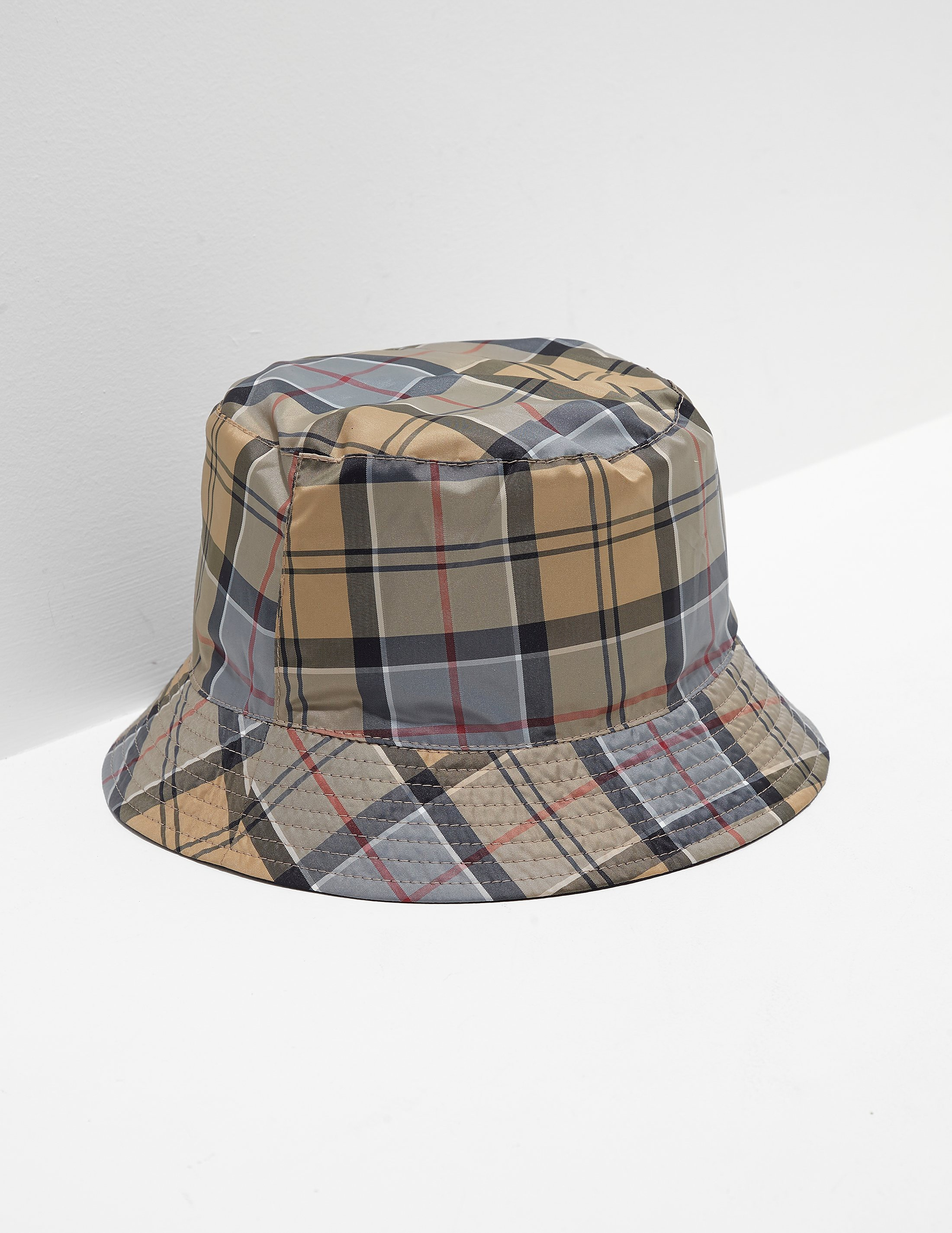 Barbour Reverse Tartan Bucket Hat