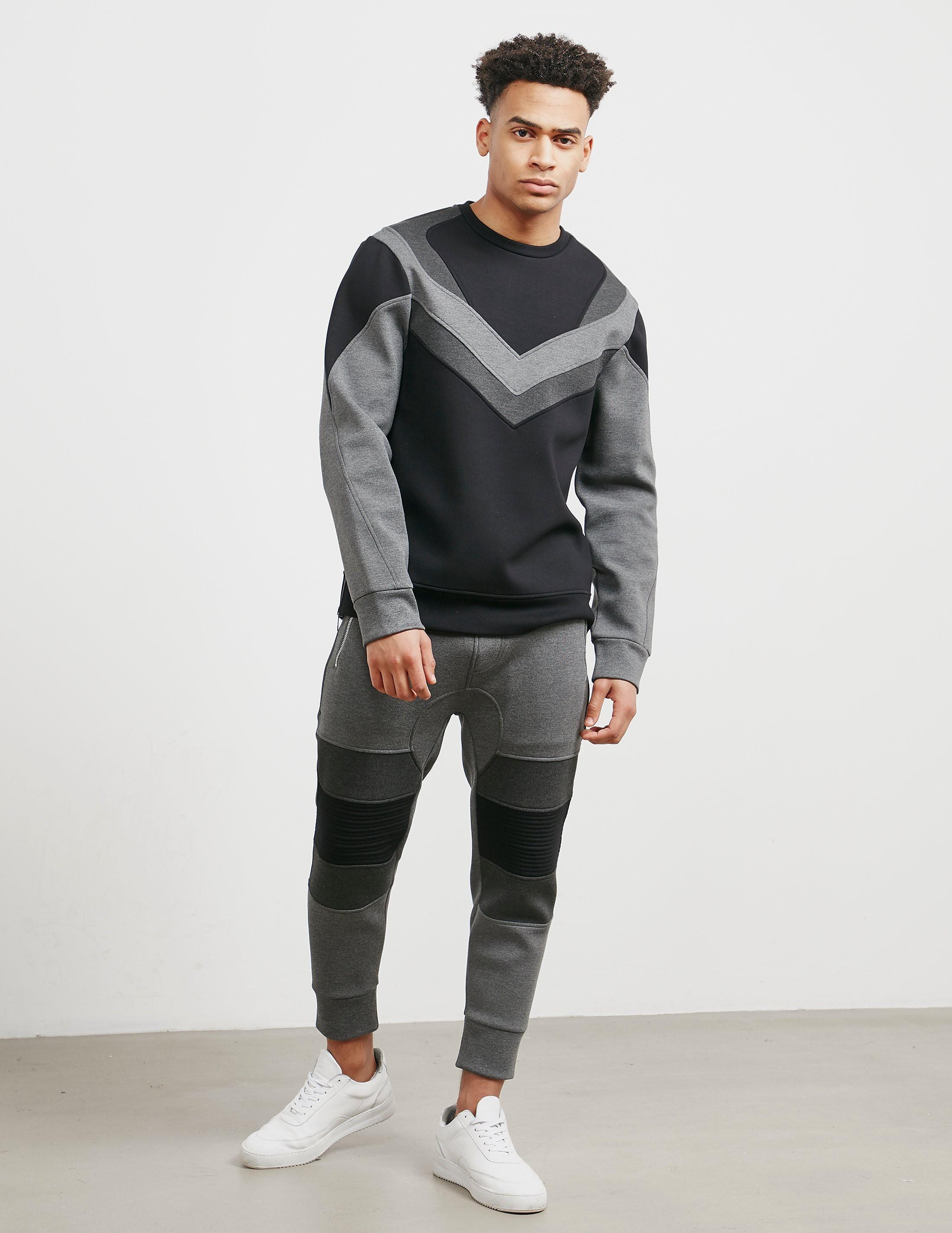 Neil Barrett Biker Sweatshirt