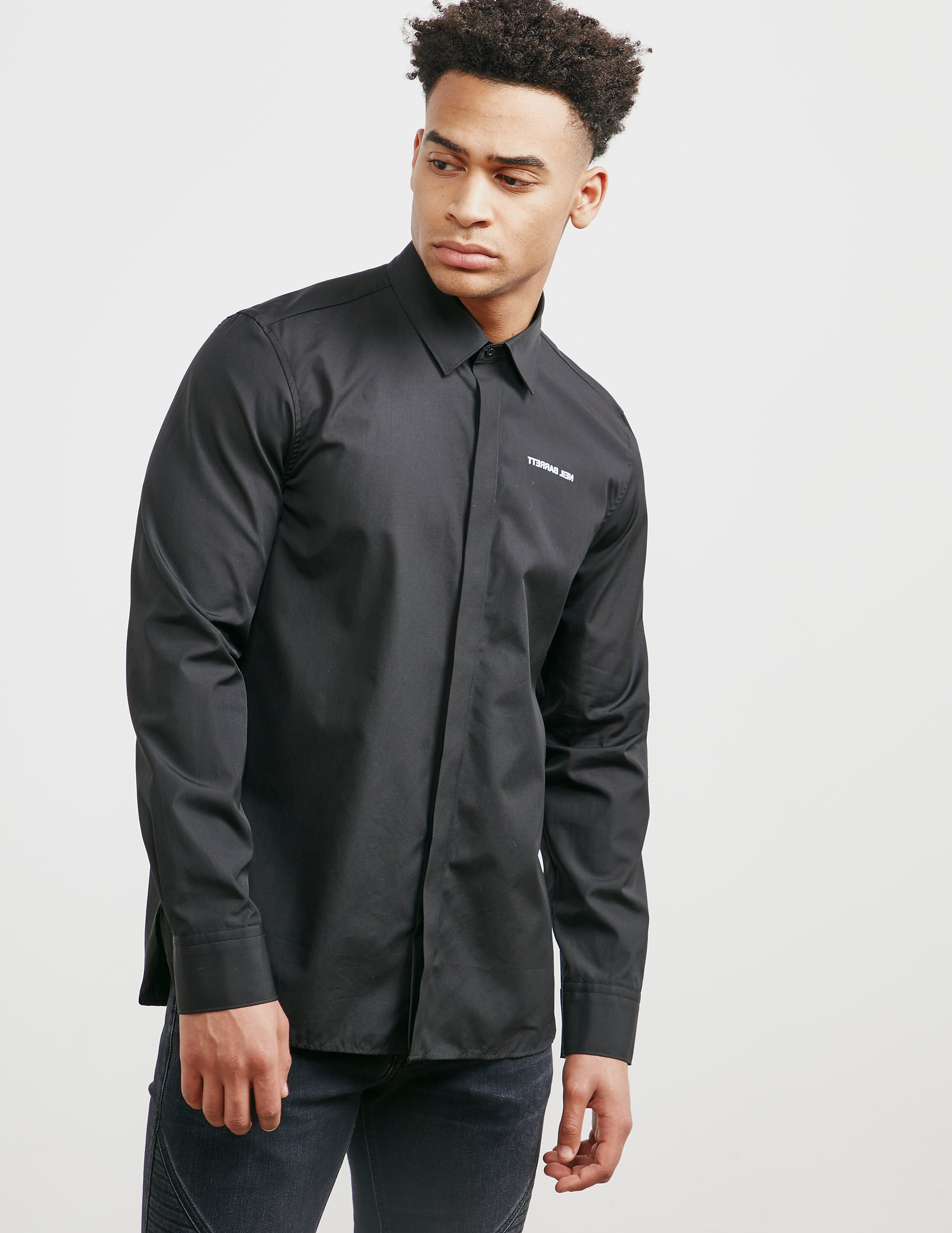 Neil Barrett Bolt Back Long Sleeve Shirt