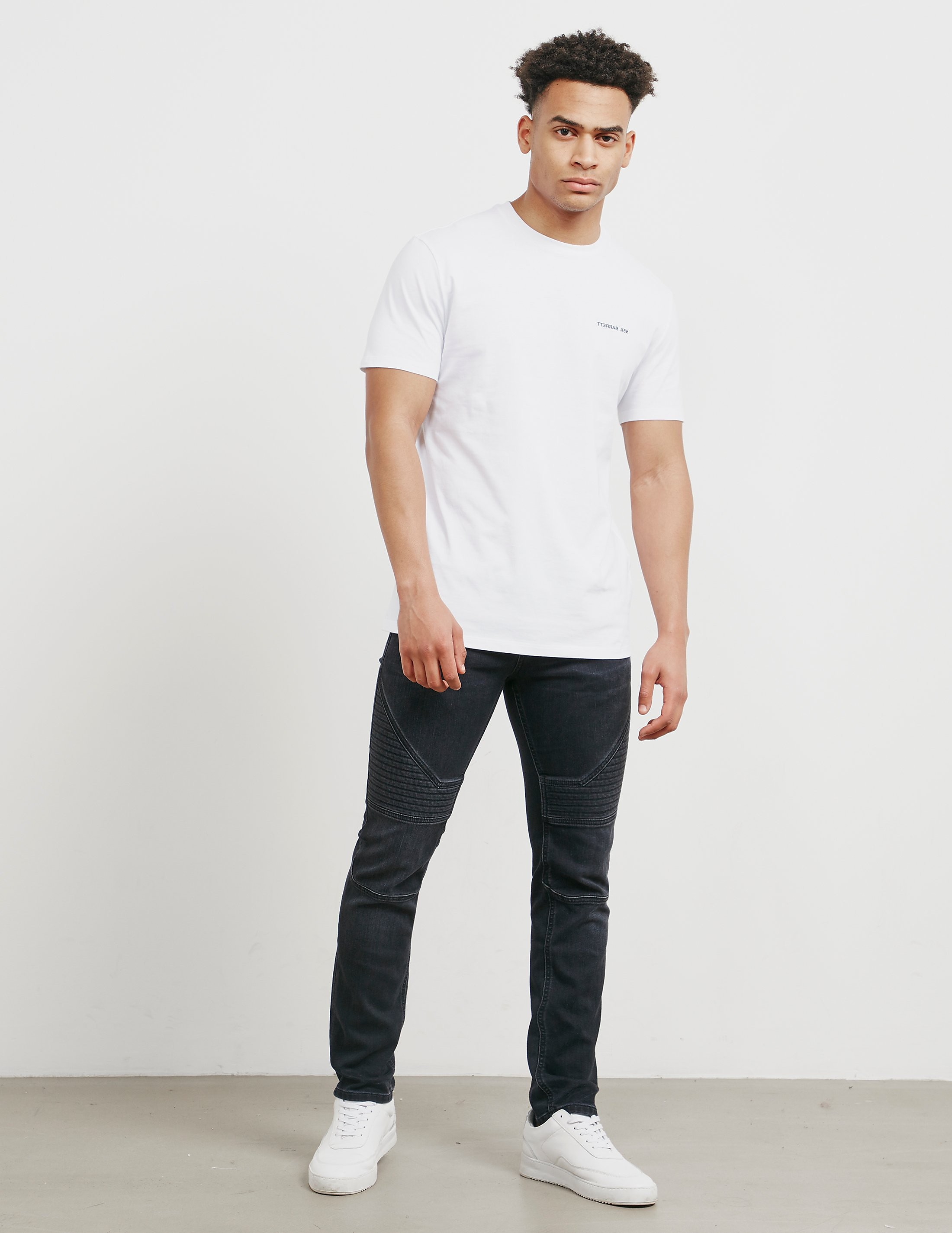 Neil Barrett Bolt Back Short Sleeve T-Shirt