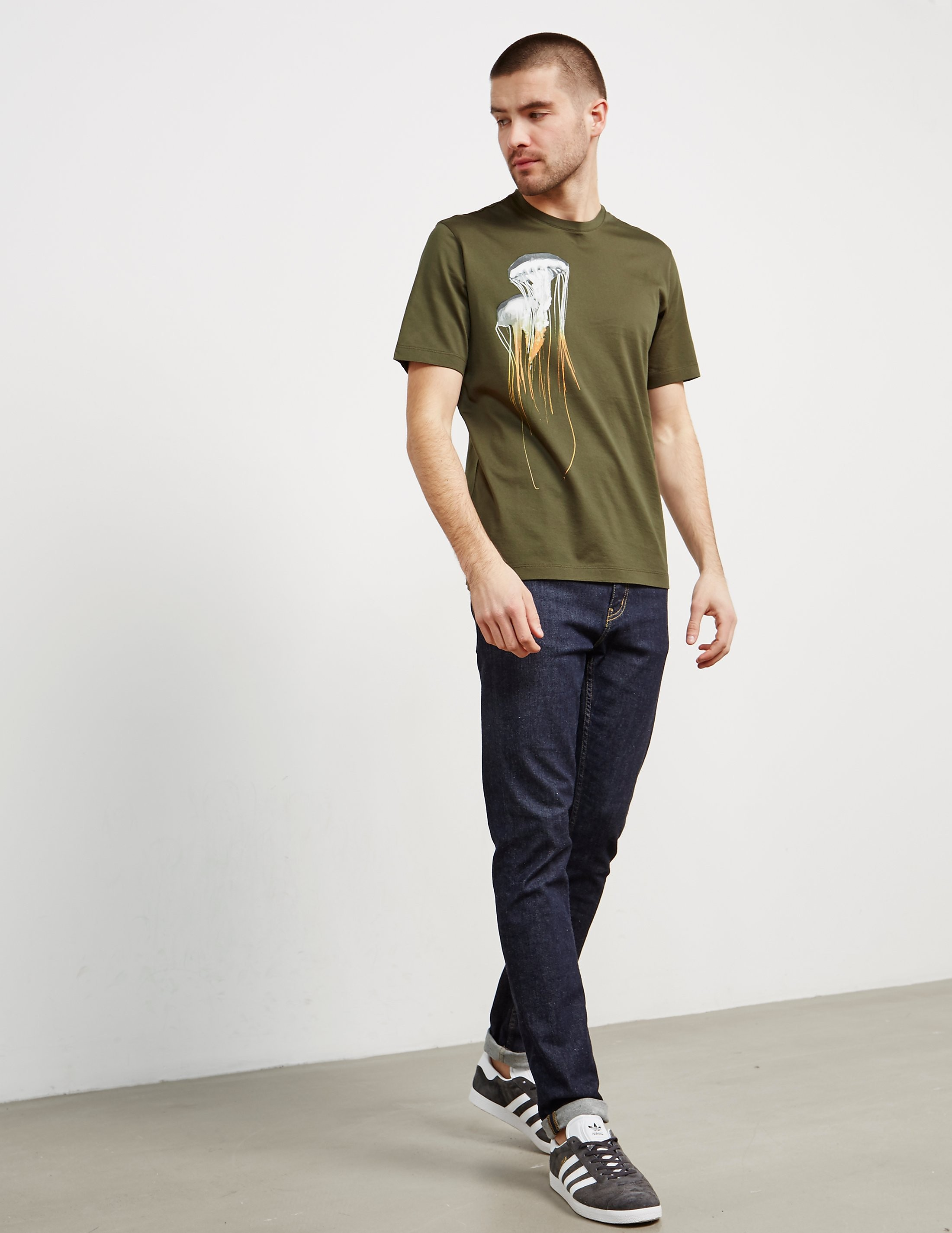 Z Zegna Clear Jellyfish Short Sleeve T-Shirt