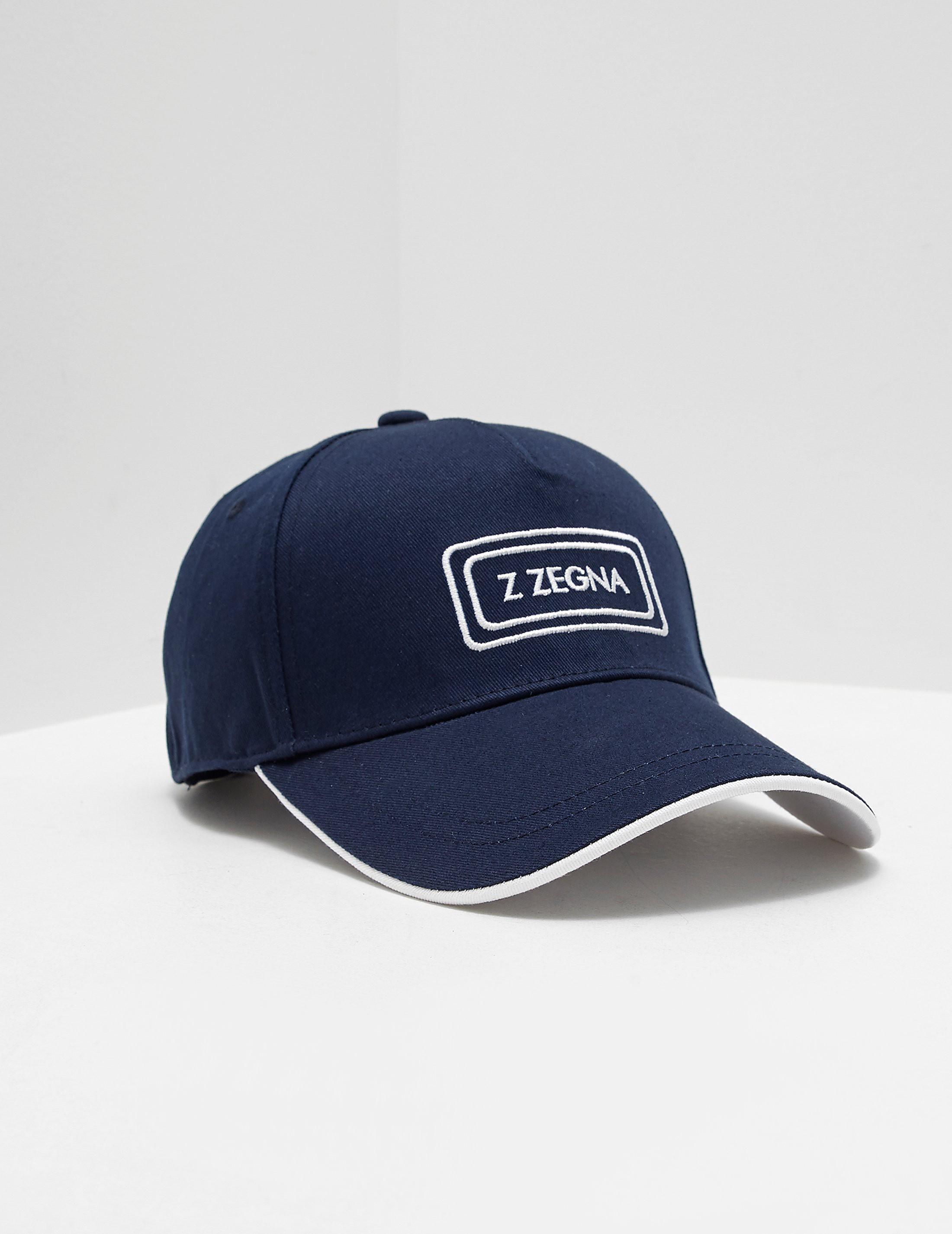 Z Zegna Logo Cap