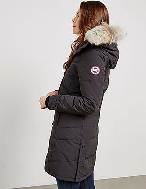 Canada Goose Lorette Padded Parka Jacket ...