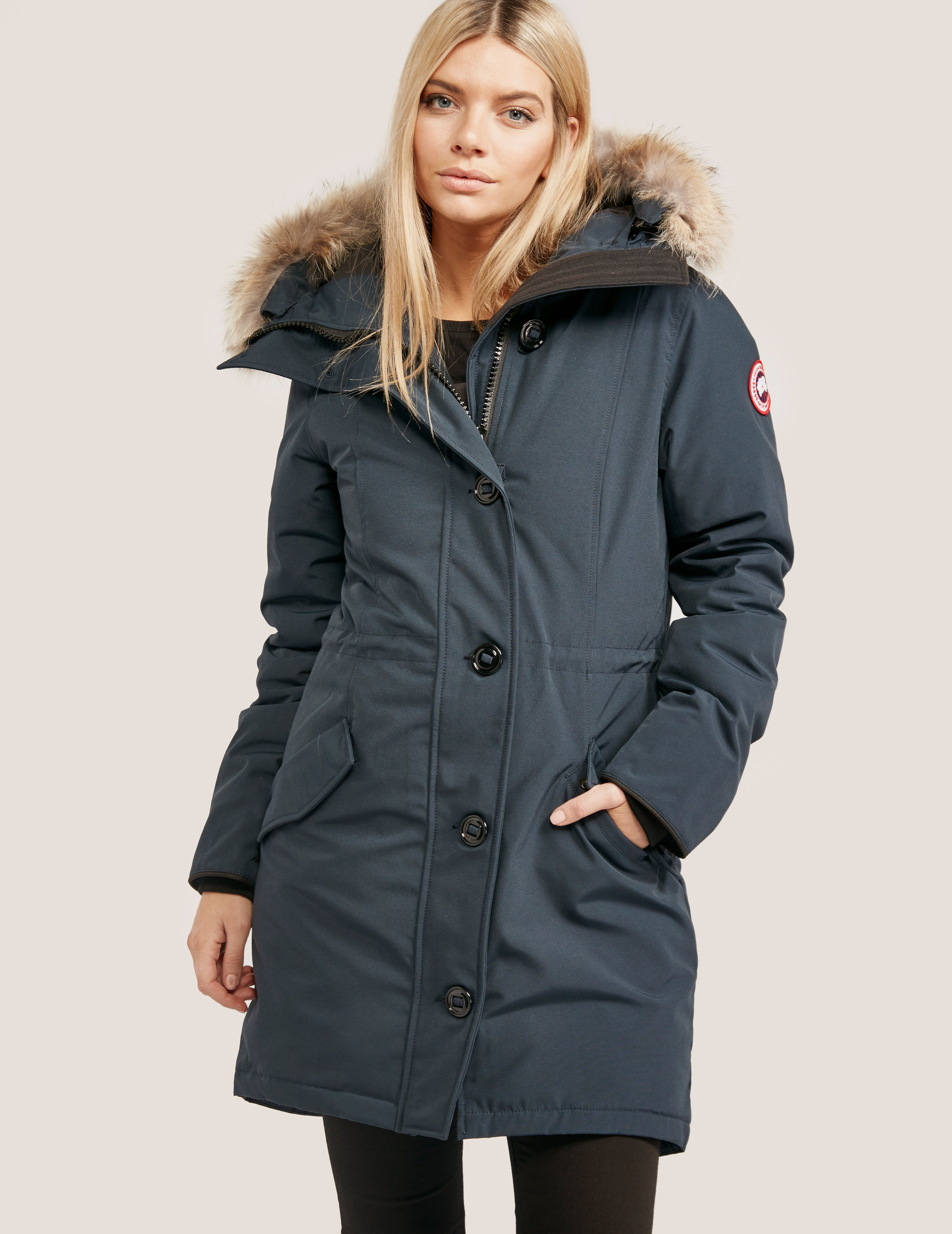 Canada Goose Rossclair Parka Ink