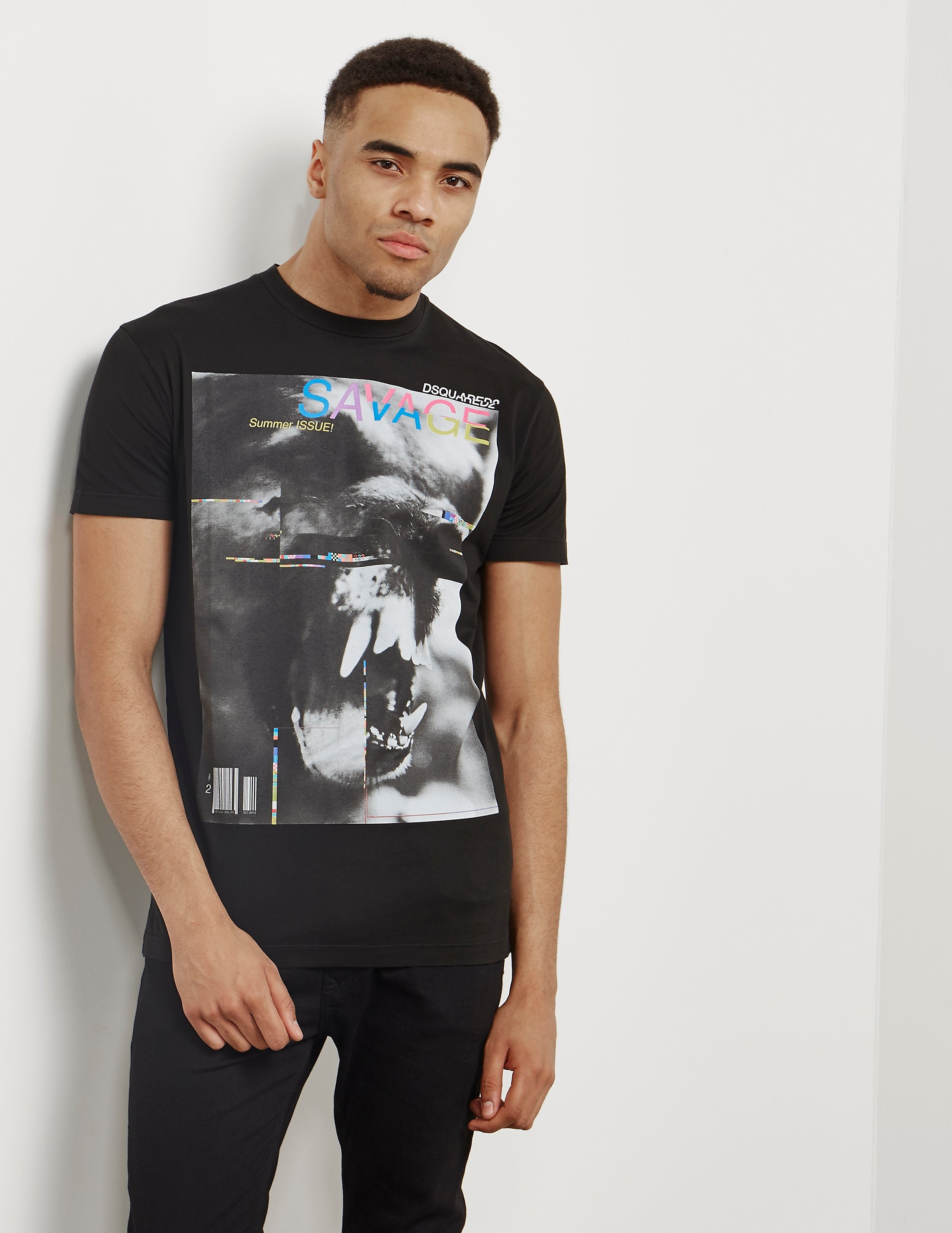 DSQUARED2 Savage Short Sleeve T-Shirt