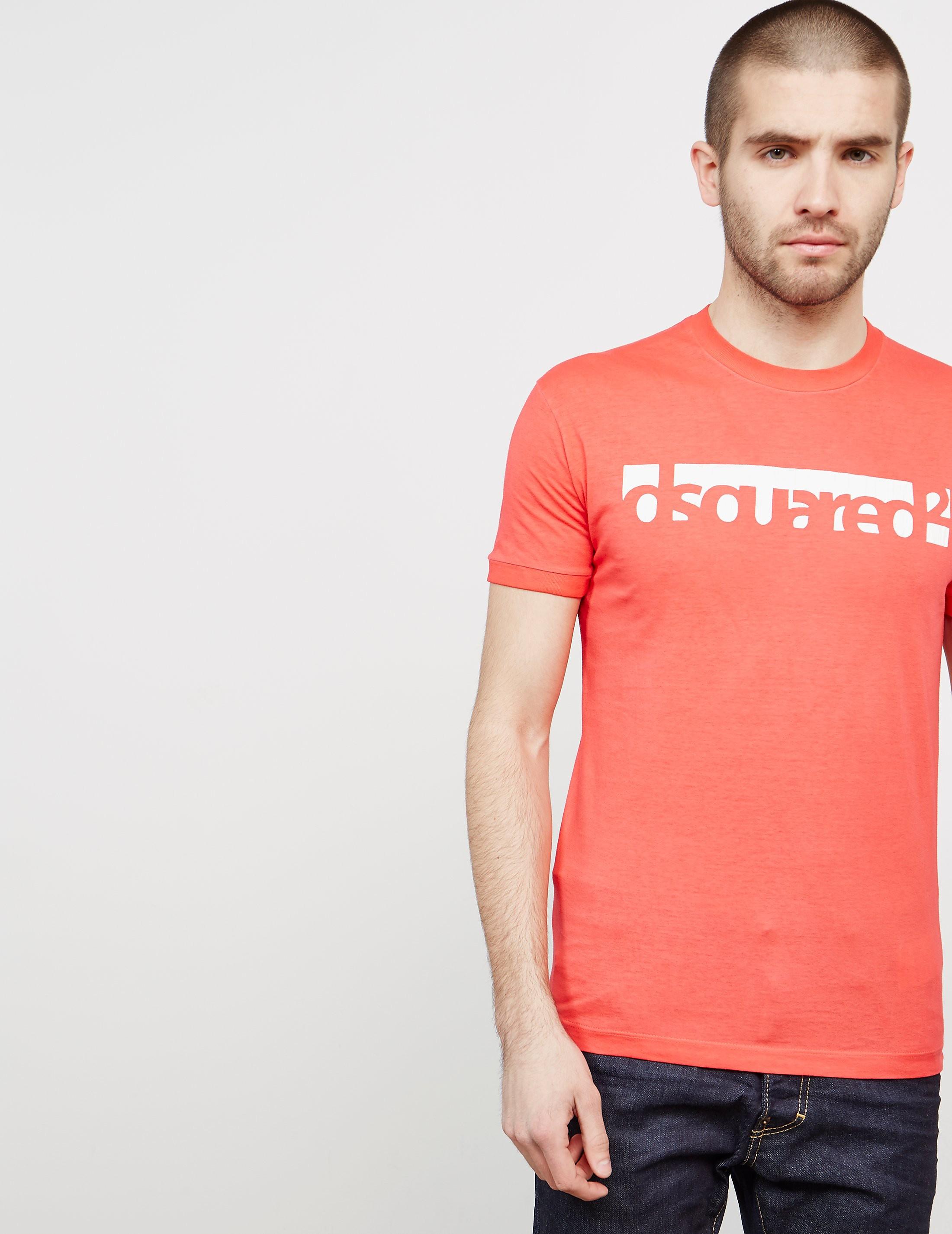 Dsquared2 Box Logo Short Sleeve T-Shirt