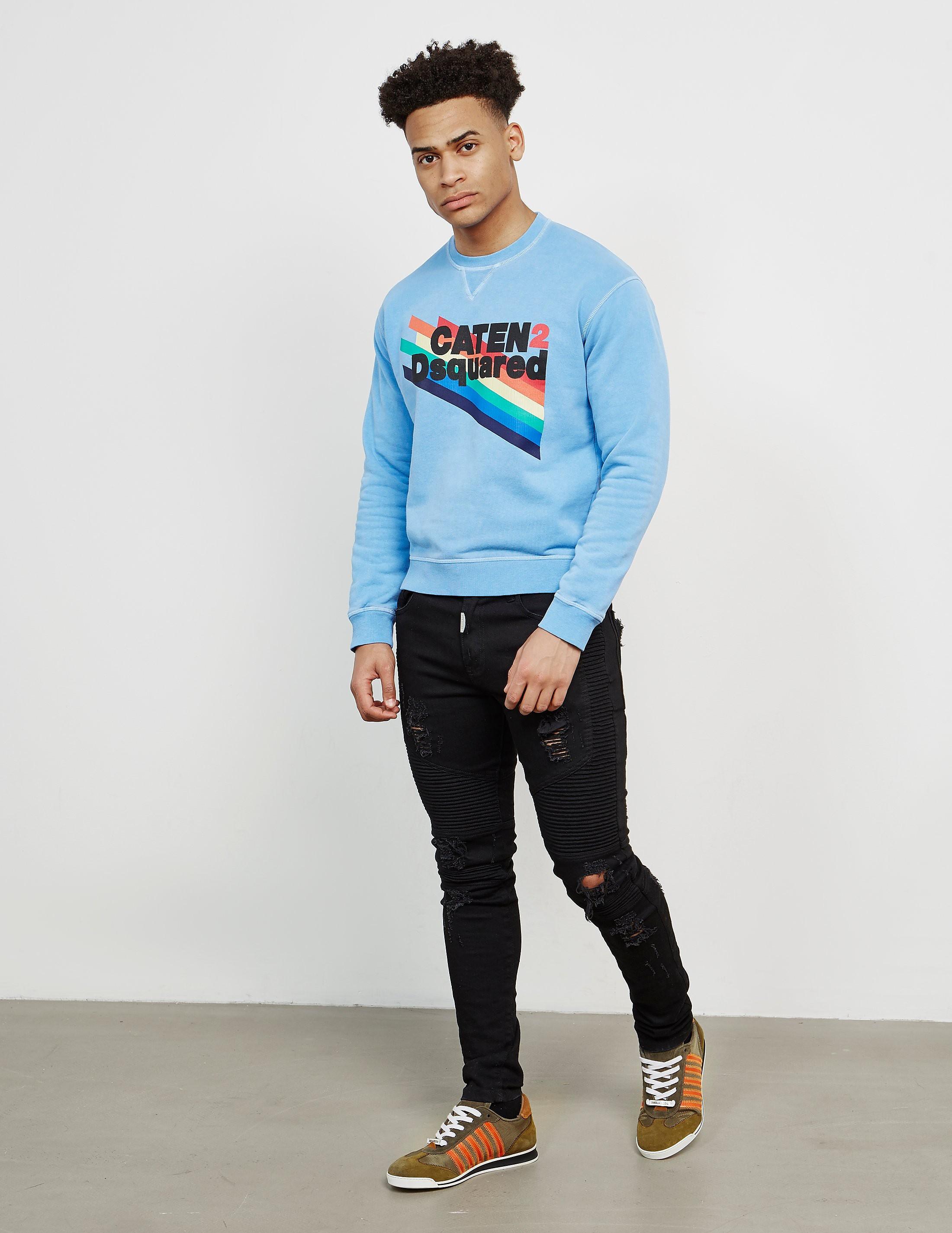 Dsquared2 Caten Rainbow Sweatshirt