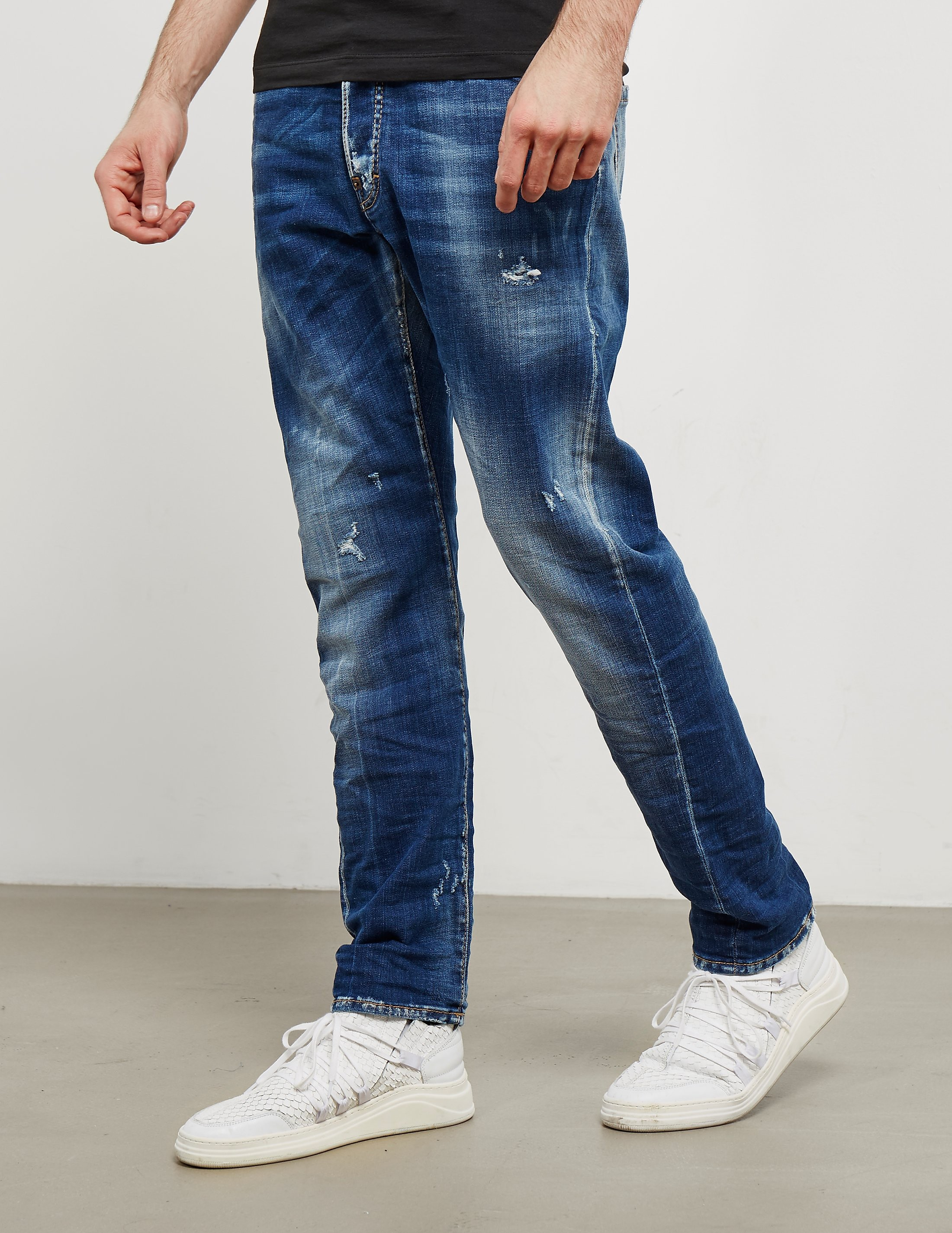 DSQUARED2 Kenny Straight Jeans