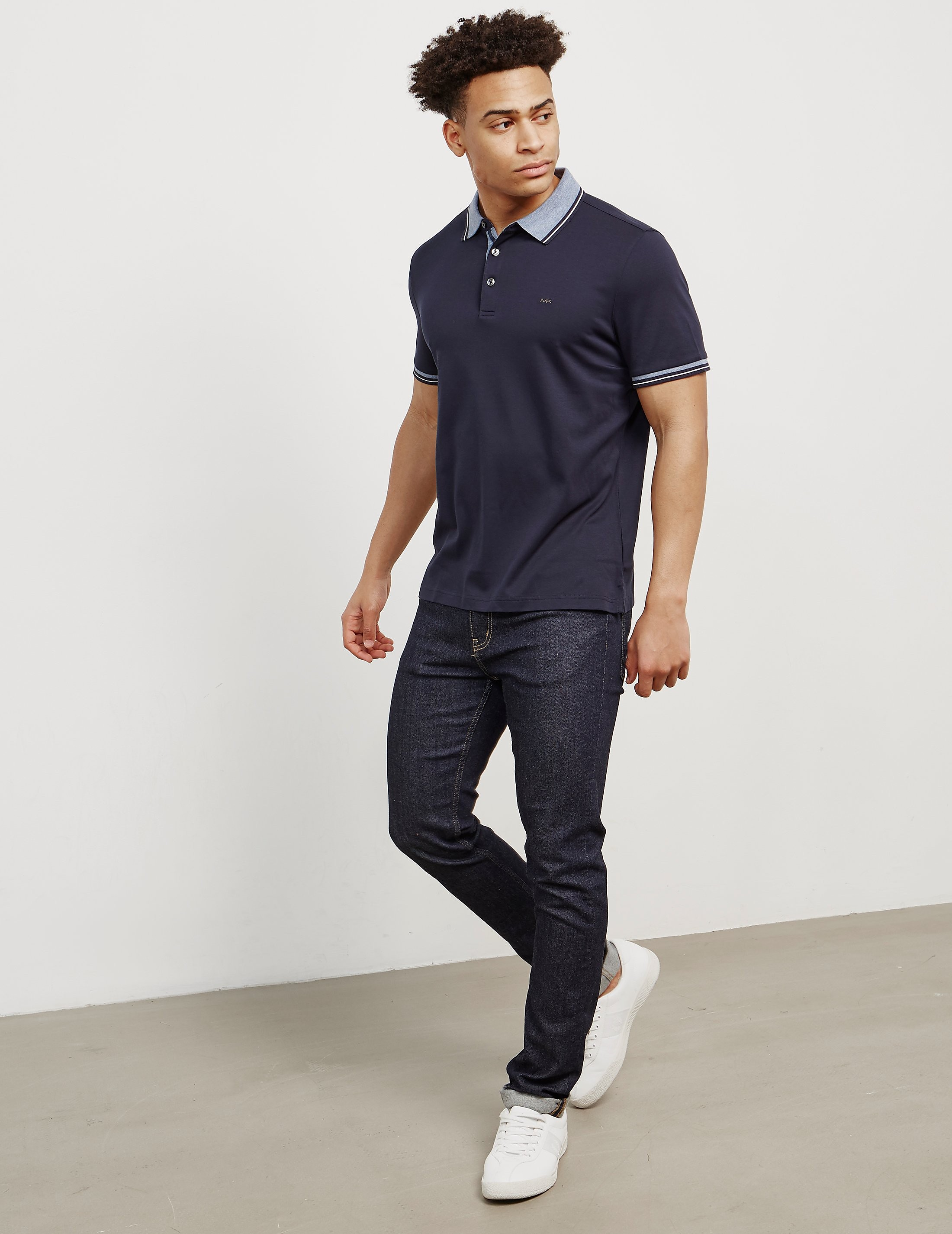 Michael Kors Greenwich Short Sleeve Polo Shirt