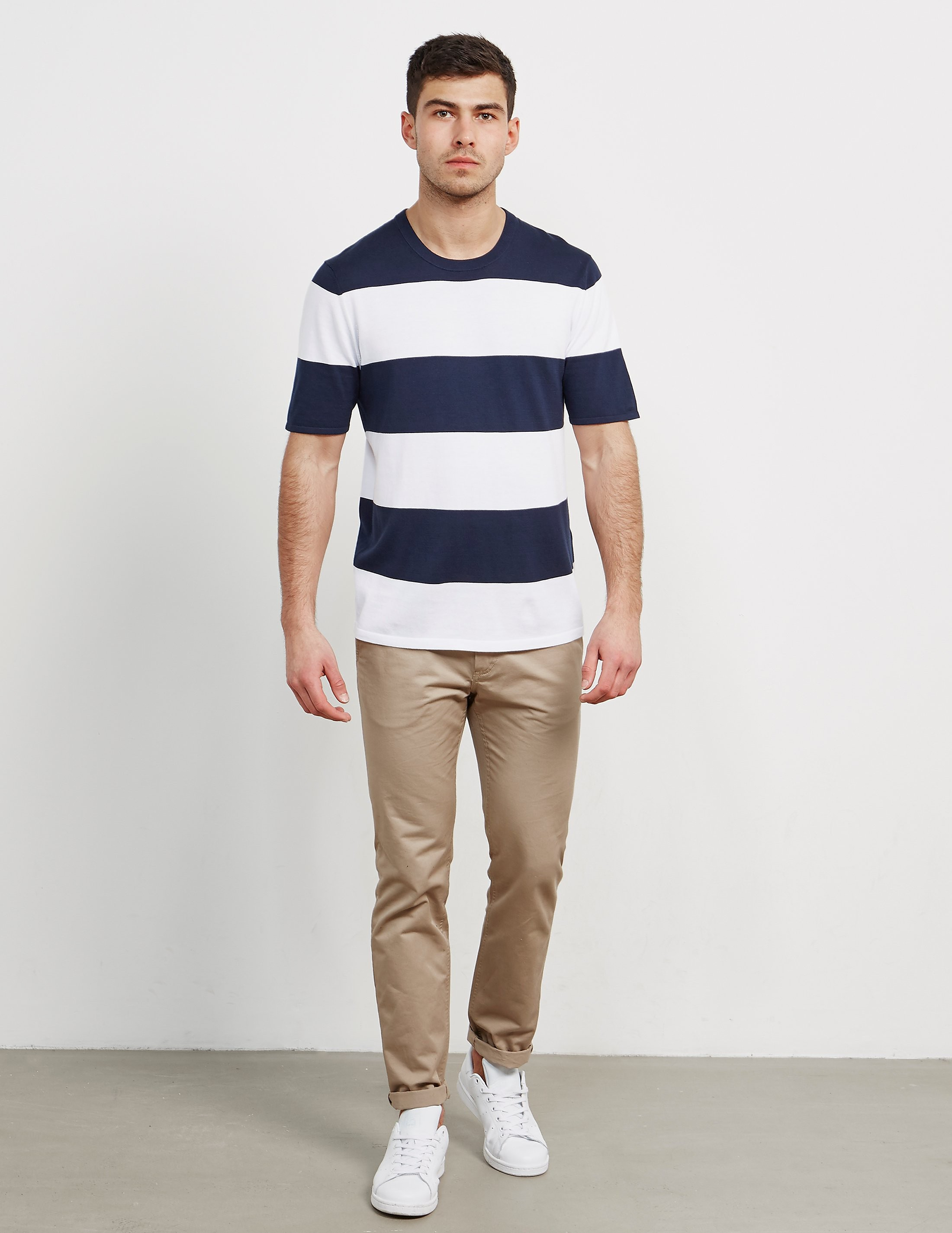 Michael Kors Stripe Knitted T-Shirt