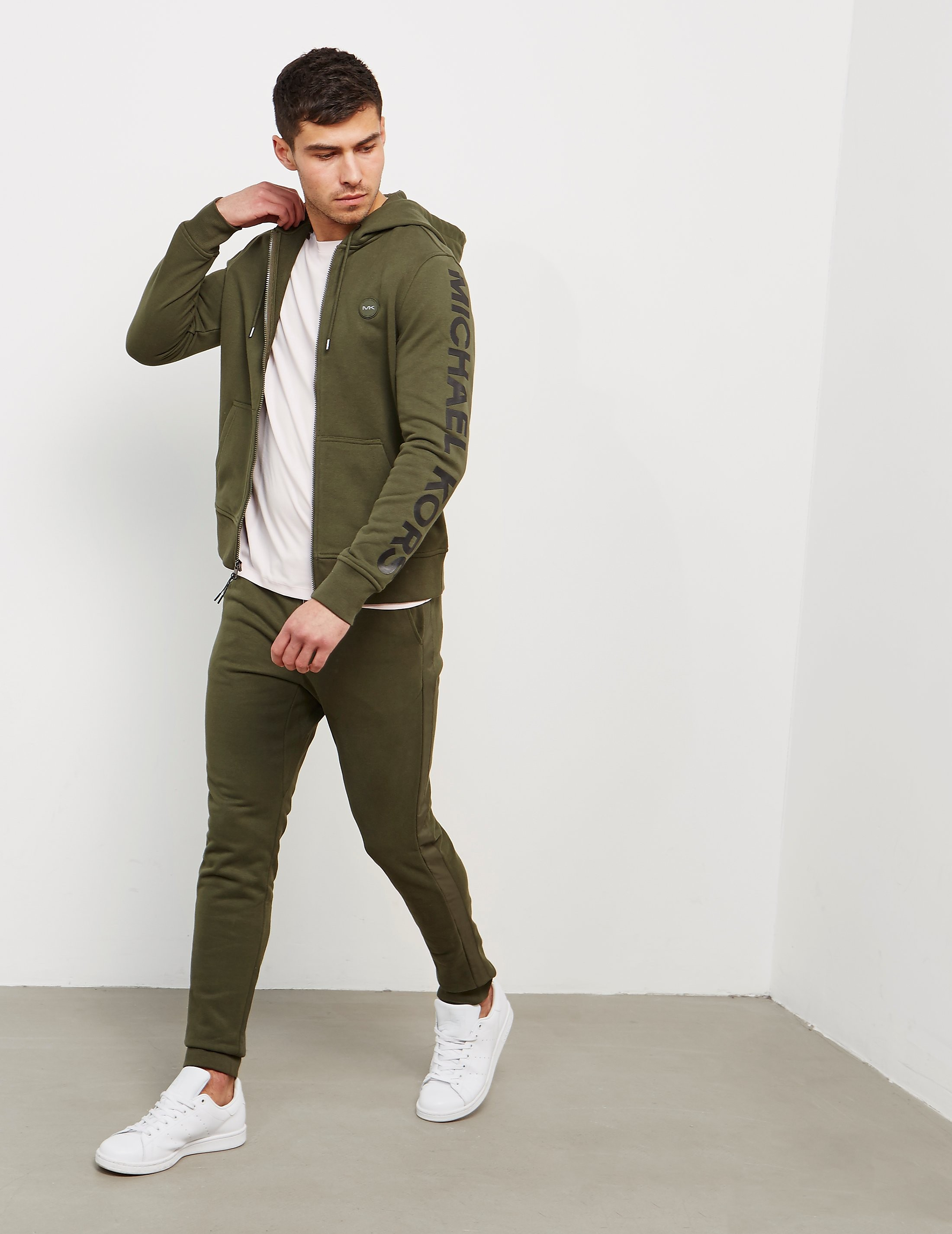 Michael Kors Arm Logo Full Zip Hoody