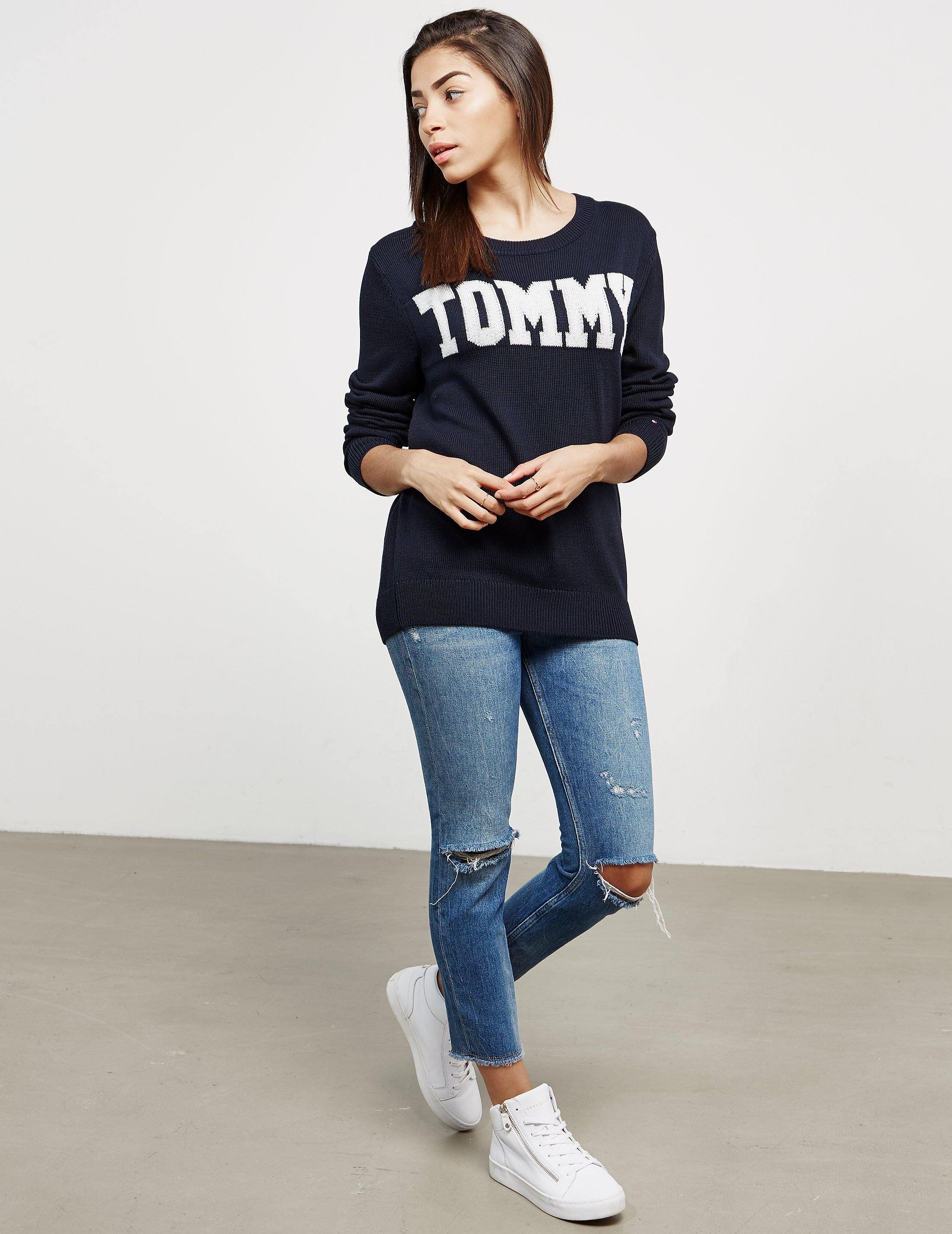 Tommy Hilfiger Rachel Tommy Knit Jumper