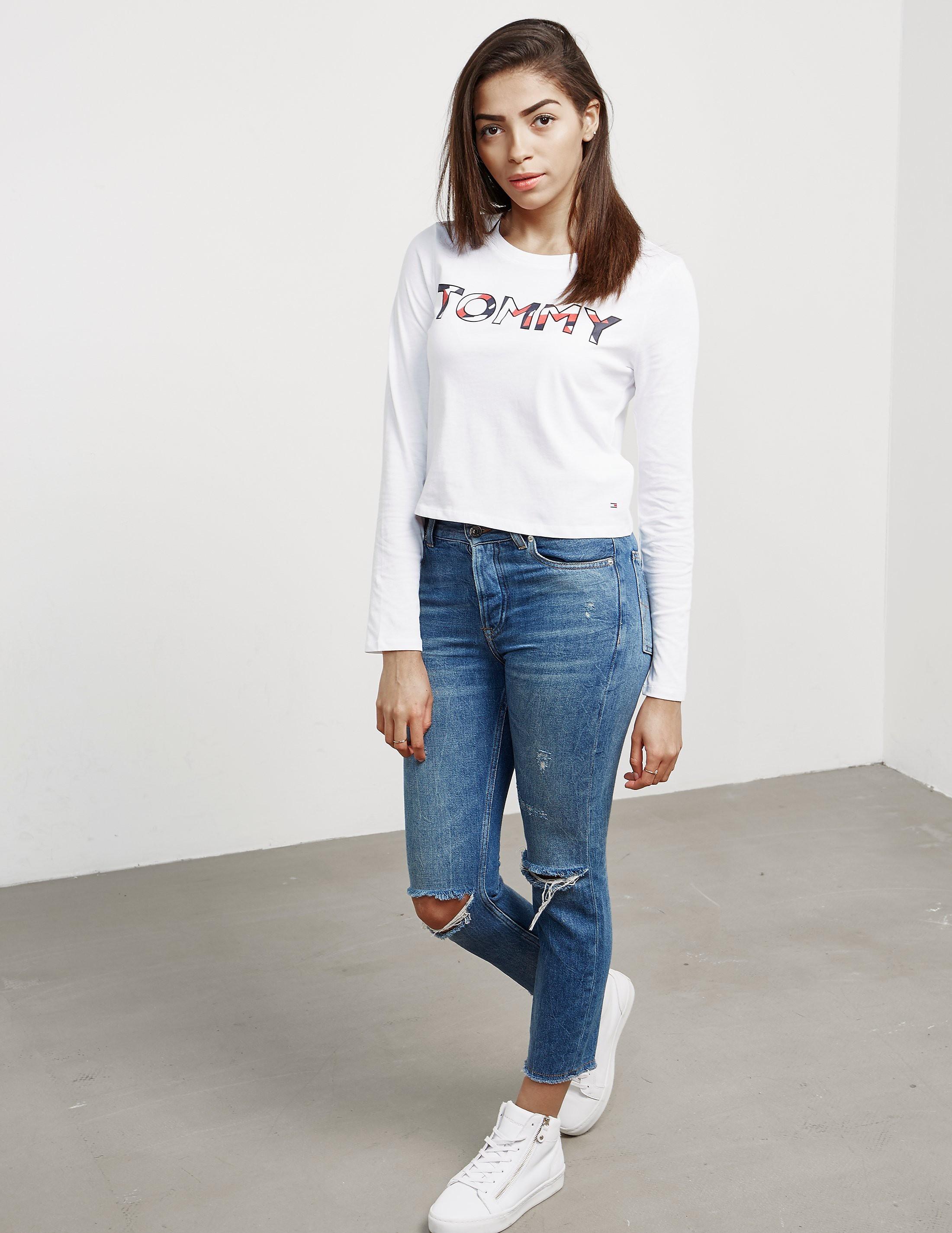 Tommy Hilfiger Beryl Crop Long Sleeve T-Shirt