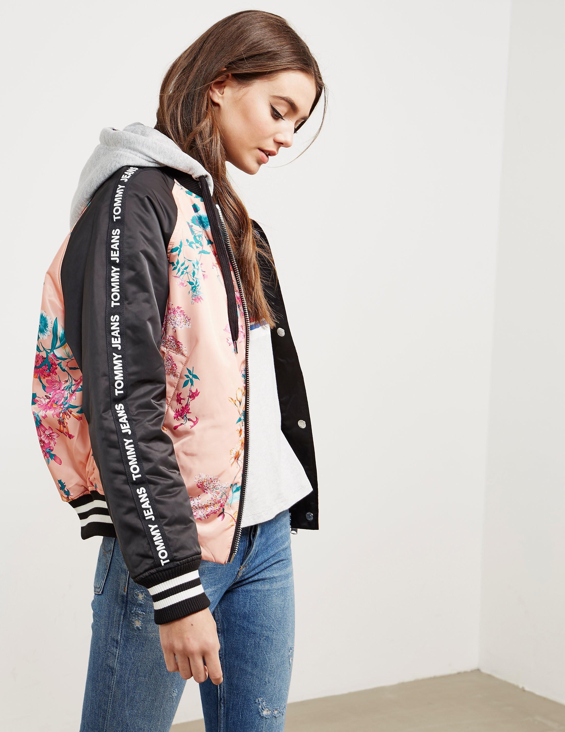 Tommy Hilfiger Reverse Floral Hooded Jacket - Online Exclusive