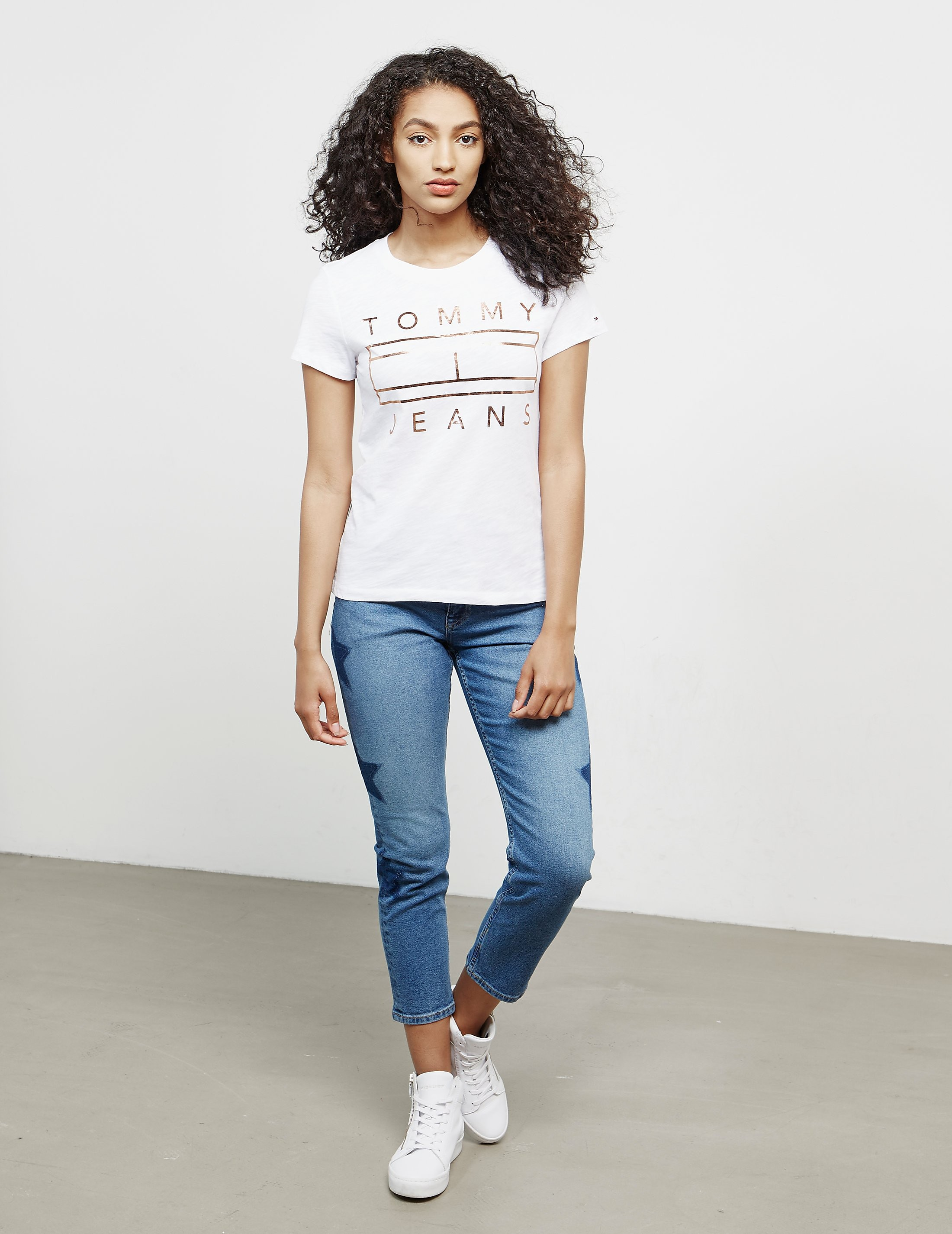 Tommy Hilfiger Clean Flag Short Sleeve T-Shirt