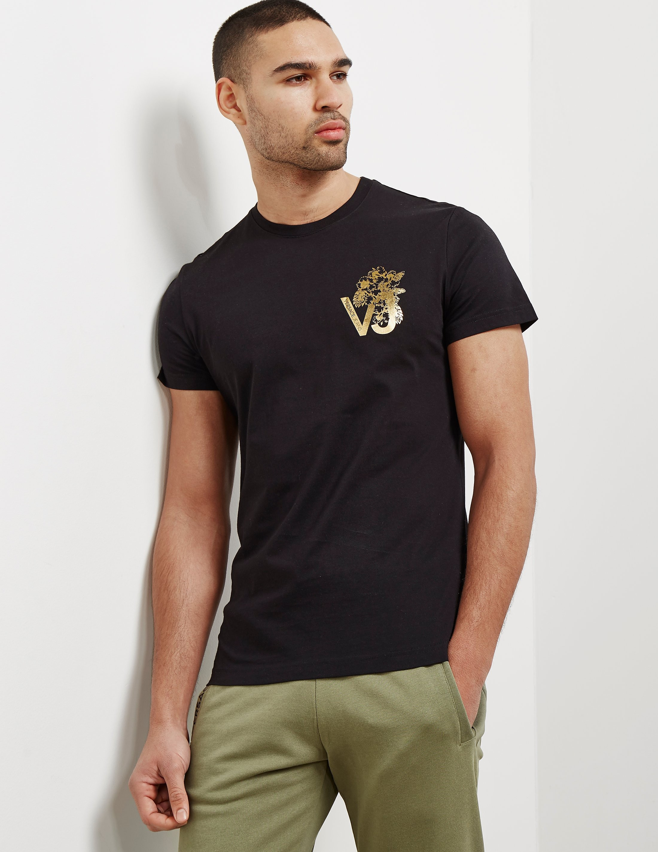 Versace Foil Short Sleeve T-Shirt