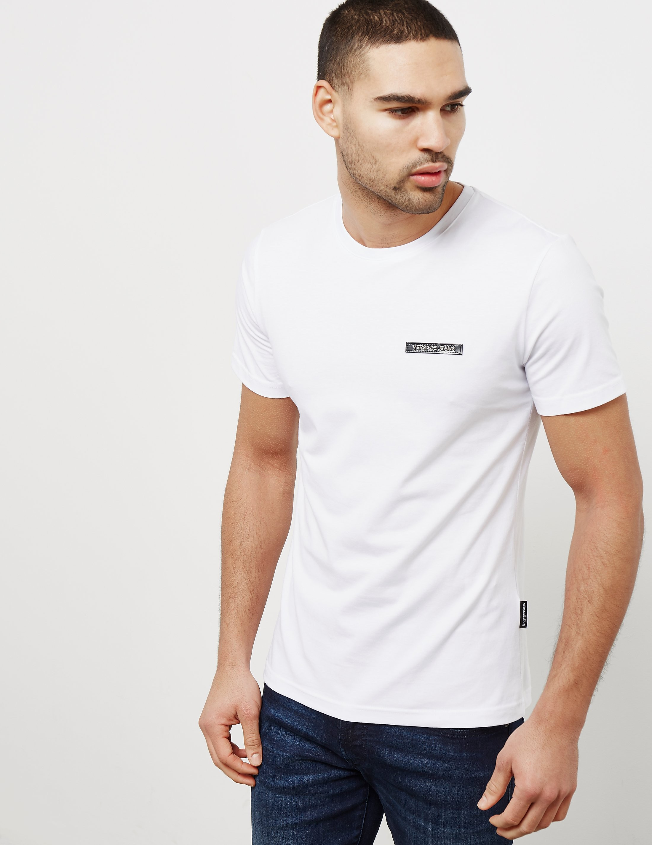 Versace Basic Short Sleeve Logo T-Shirt
