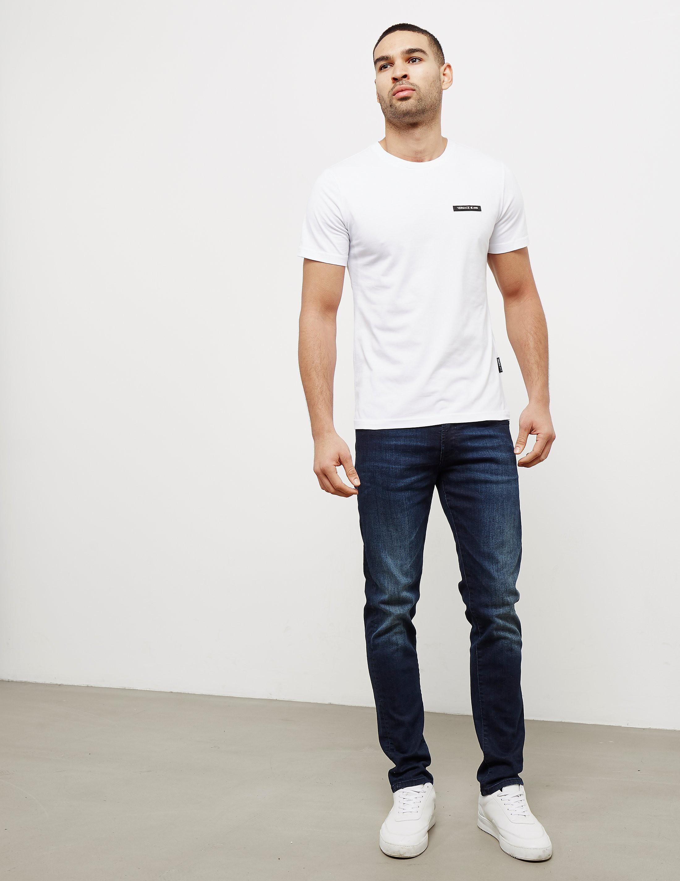 Versace Basic Short Sleeve Logo T-Shirt