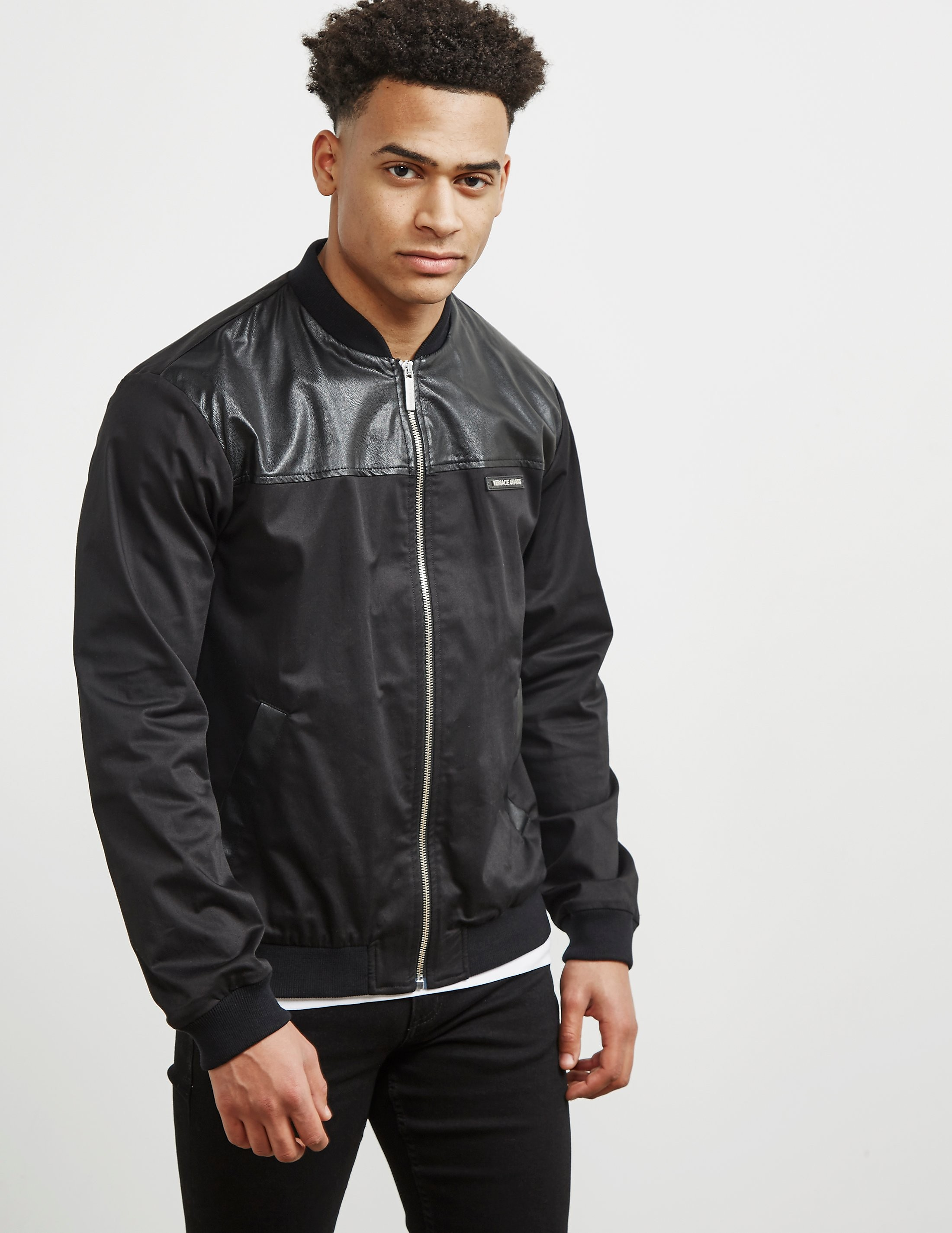 Versace Block Lightweight Bomber Jacket