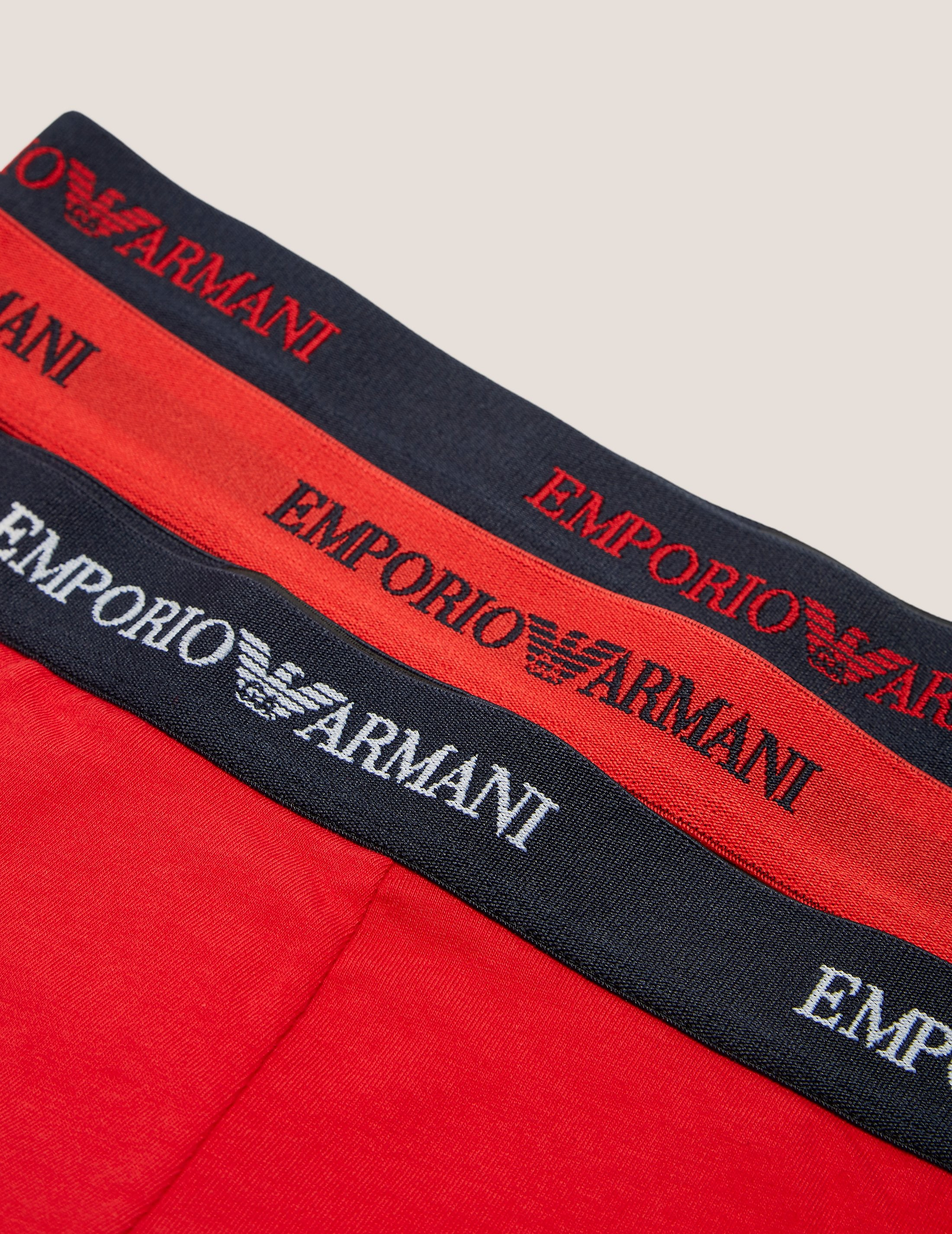 Emporio Armani Three Pack Trunk