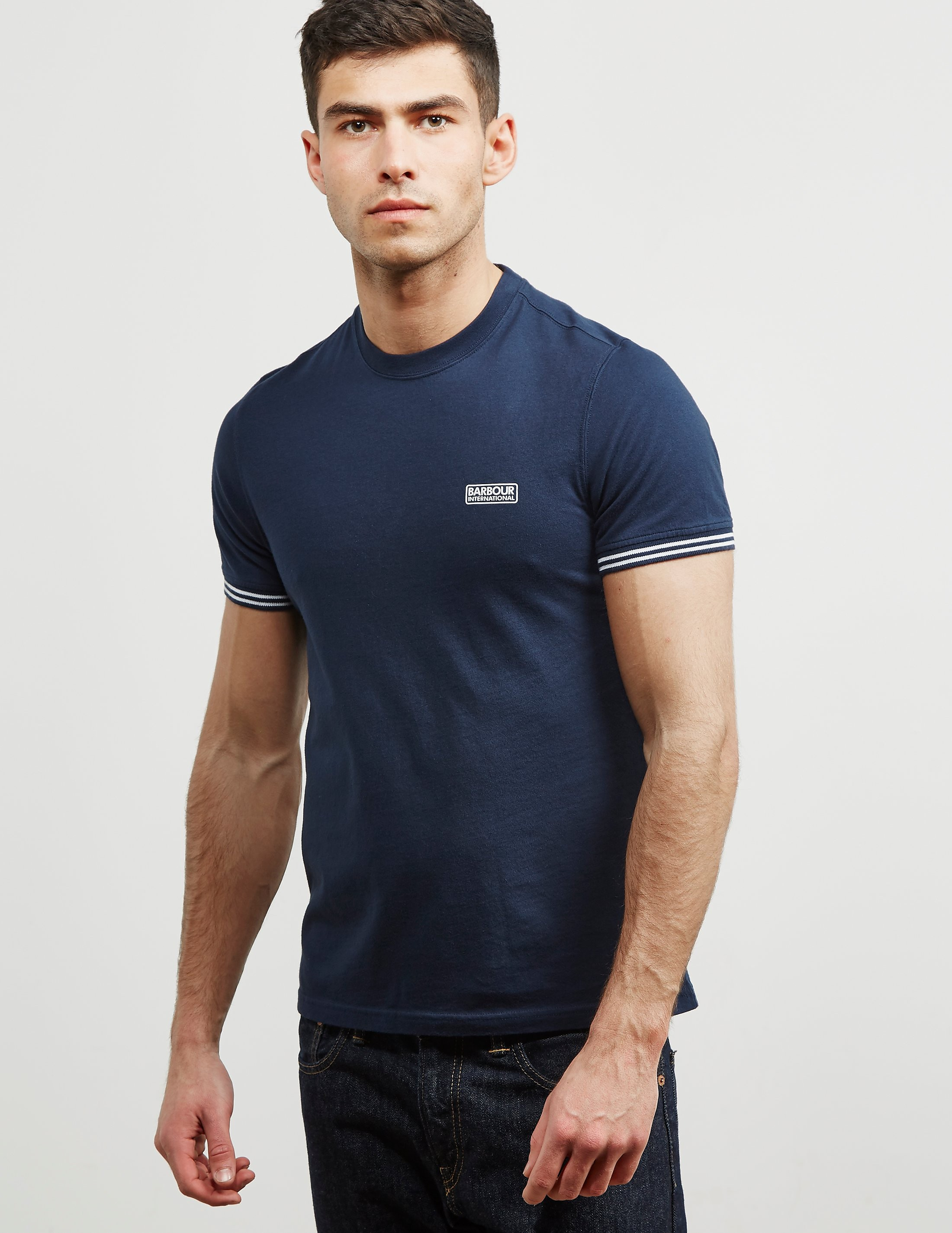 Barbour International Tipped Short Sleeve T-Shirt