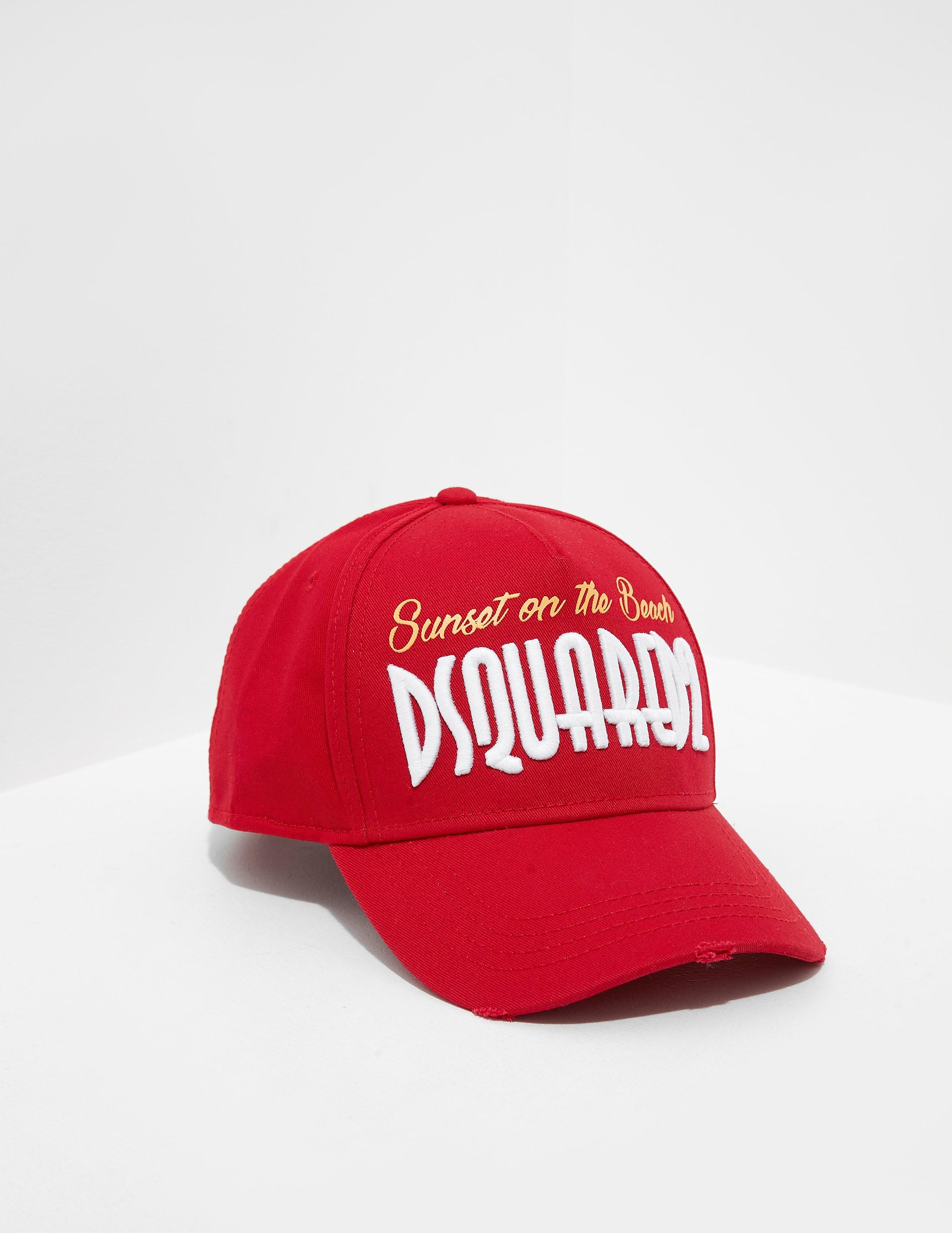 Dsquared2 Miami Logo Cap