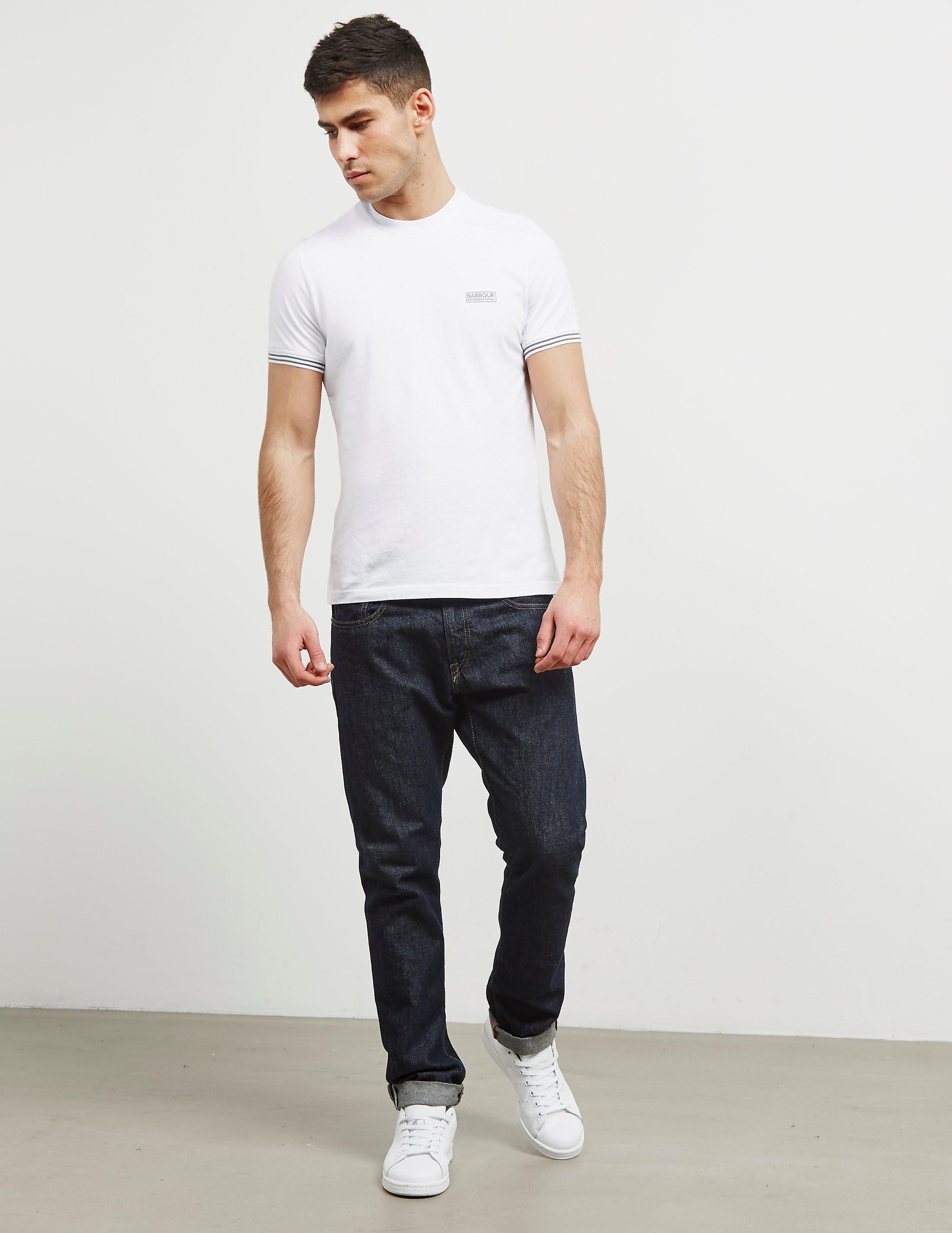 Barbour International Tipped Short Sleeve T-Shirt