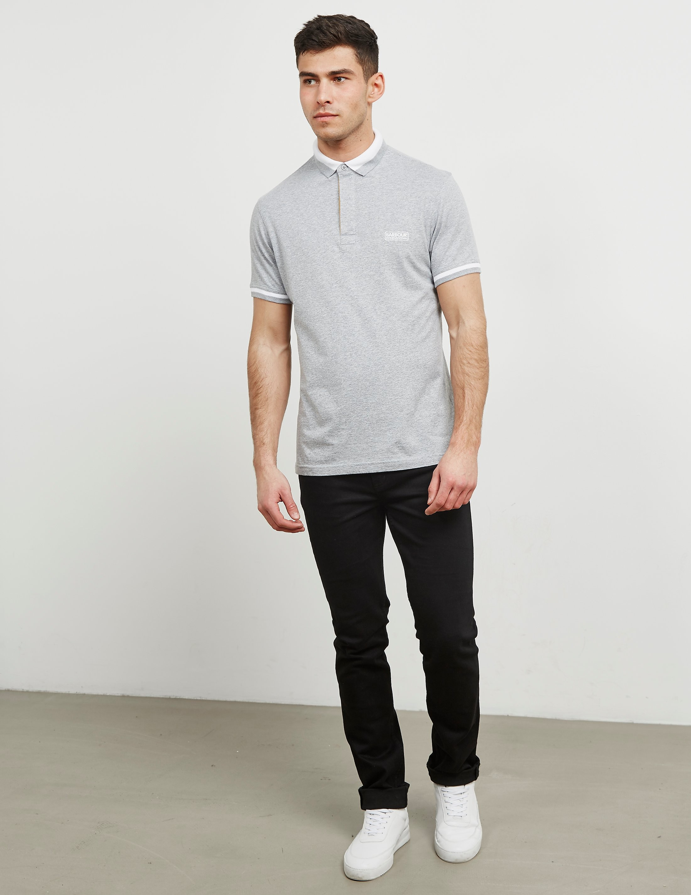 Barbour International Throttle Short Sleeve Polo Shirt
