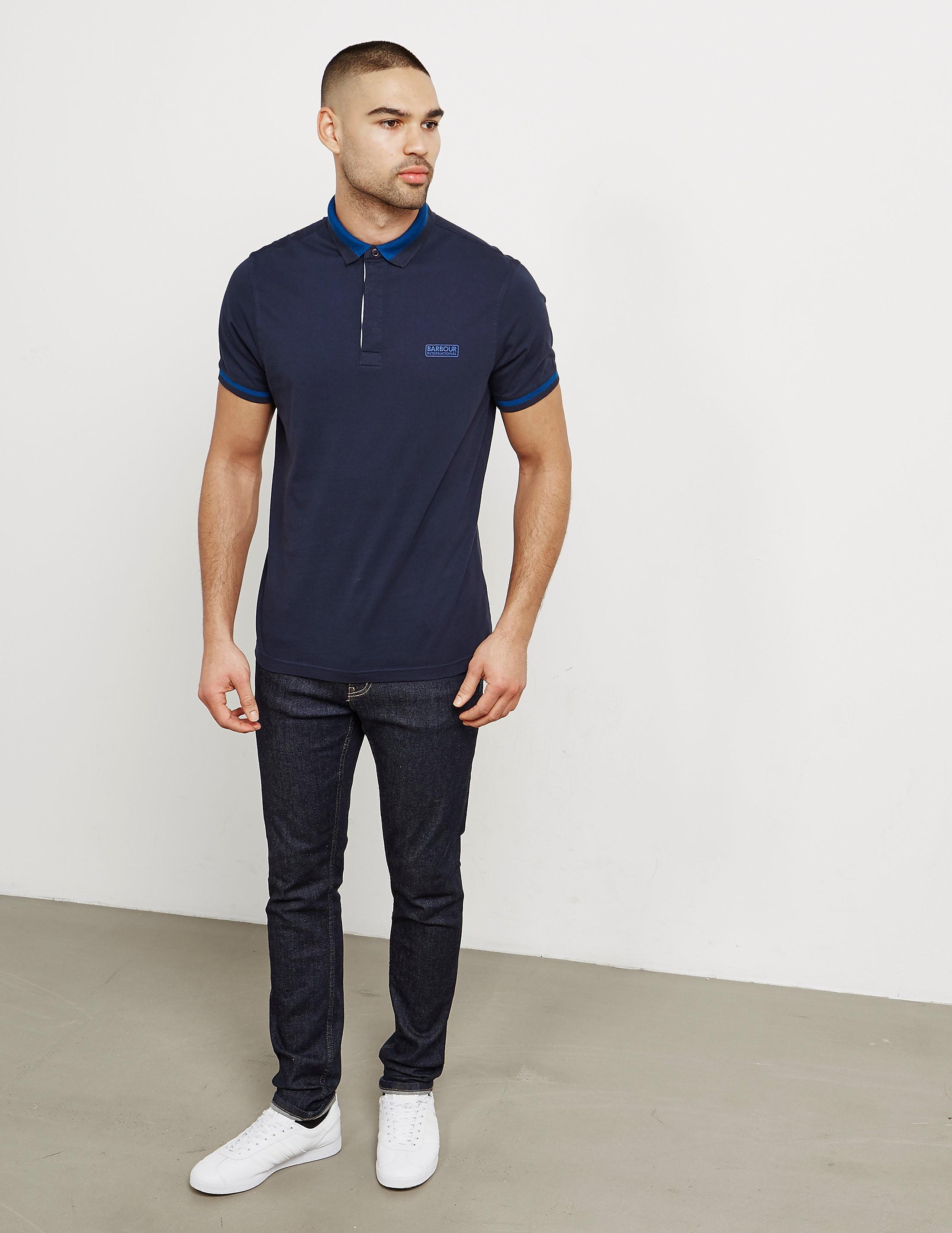 Barbour International Throttle Short Sleeve Polo Shirt