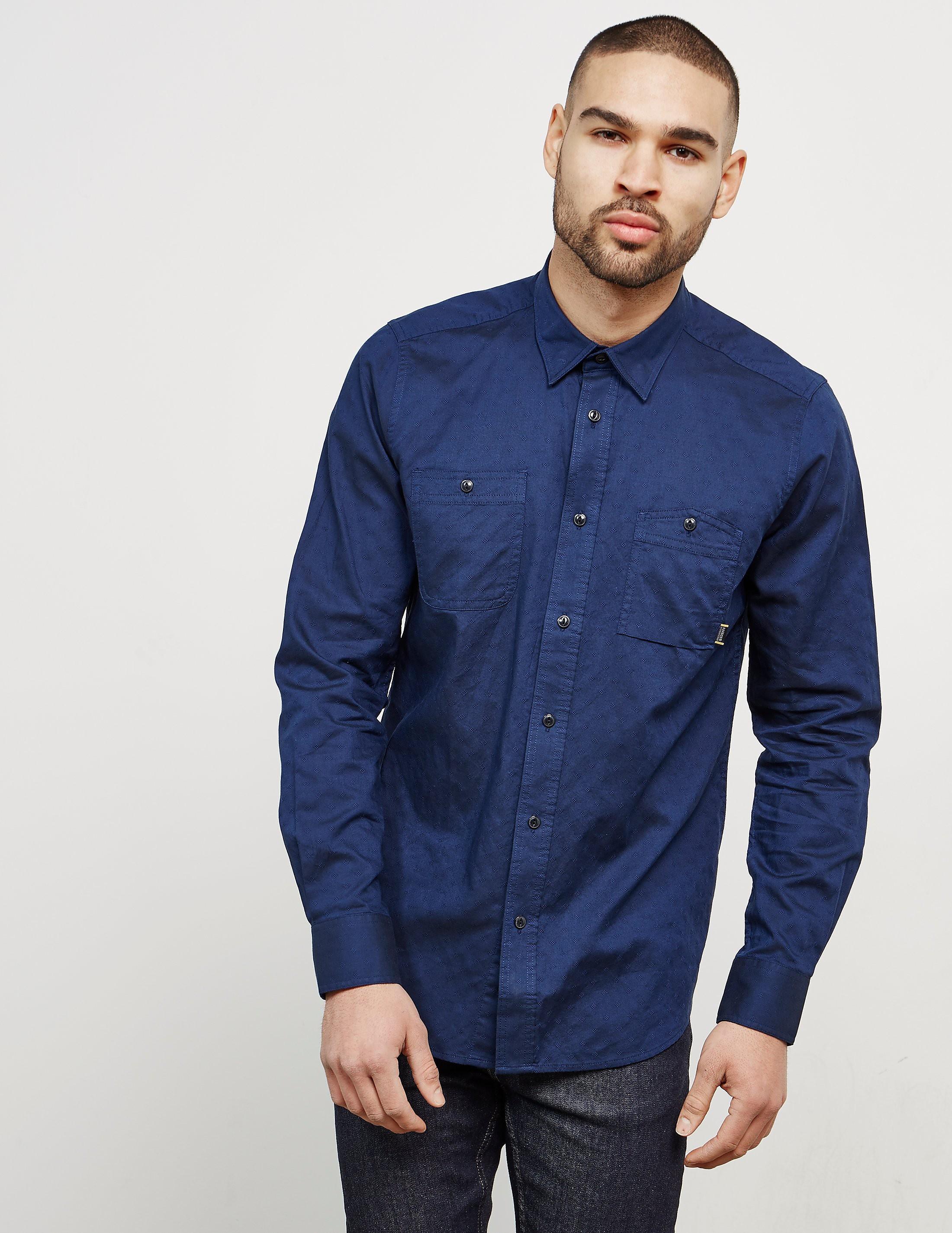 Barbour International Harris Work Long Sleeve Shirt