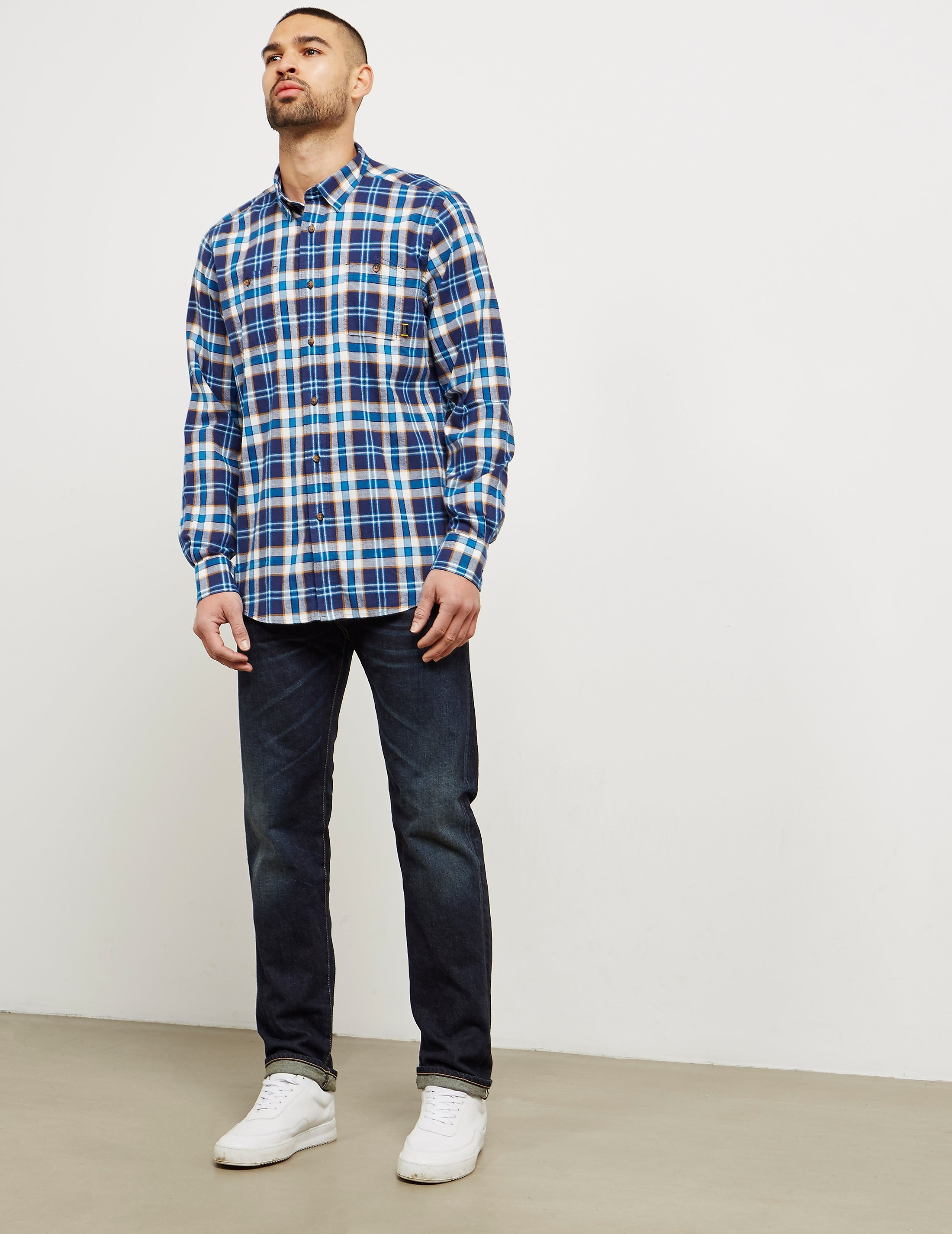 Barbour International Wrench Check Long Sleeve Shirt