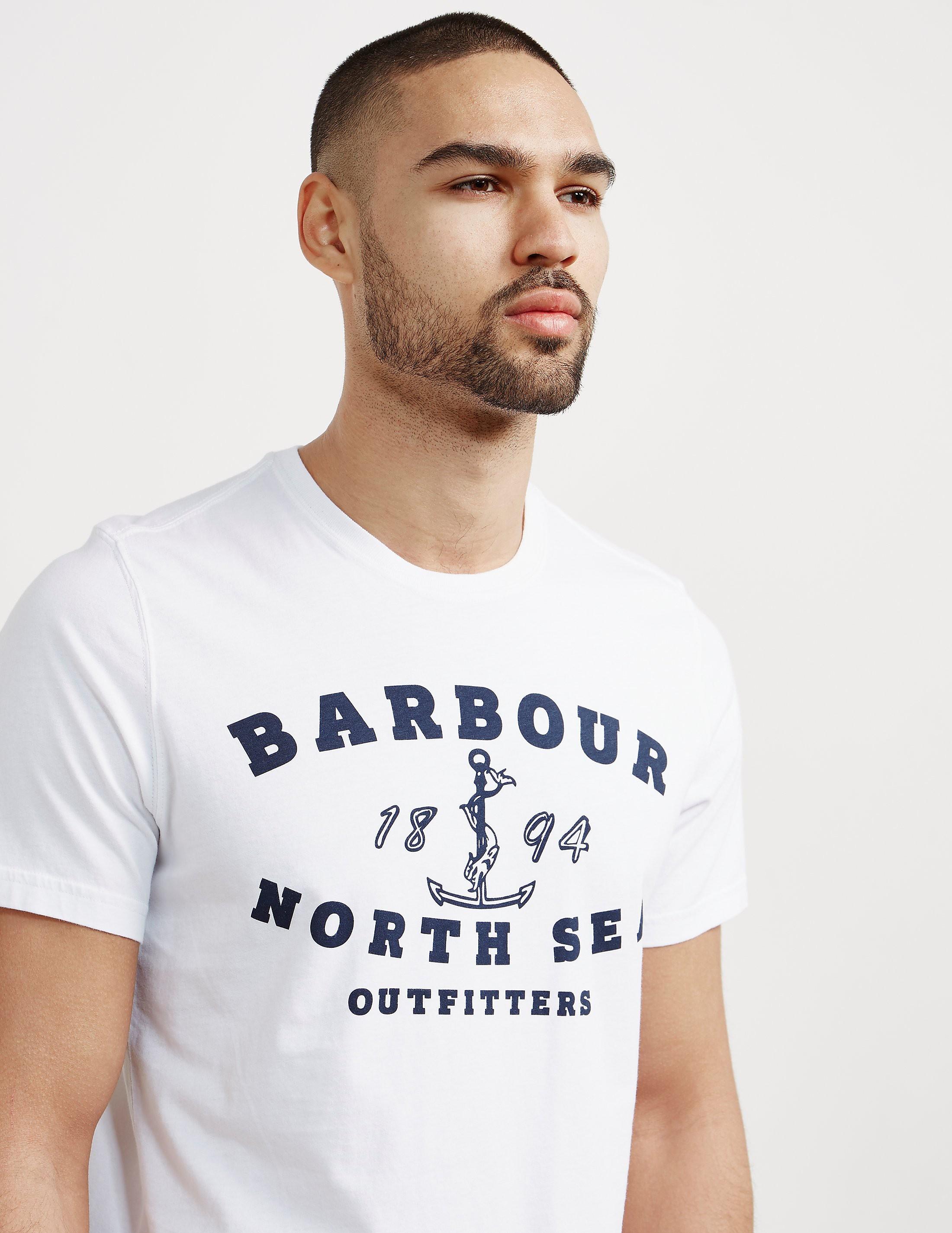 Barbour Mizen Logo Short Sleeve T-Shirt