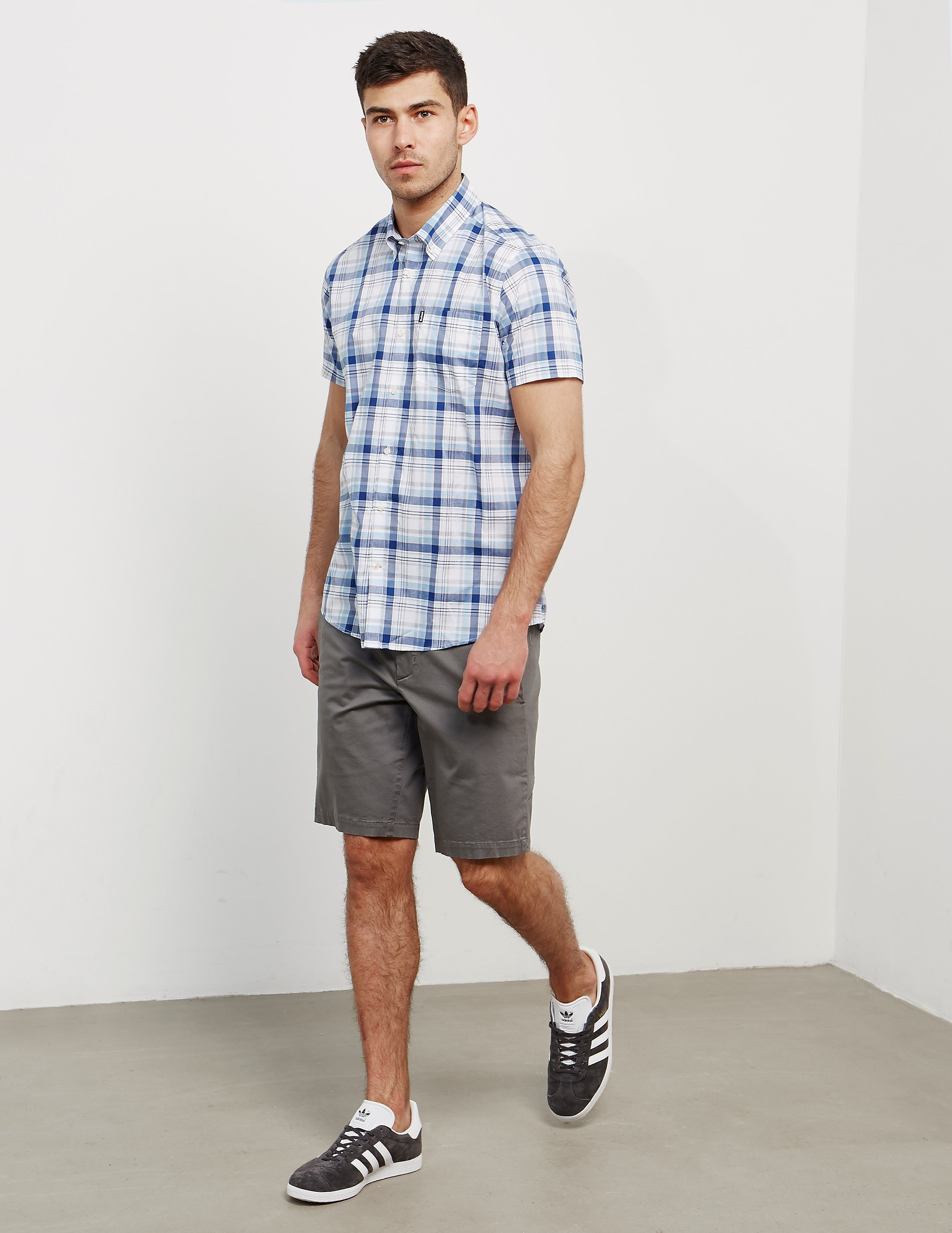 Barbour Gerald Madras Short Sleeve T-Shirt