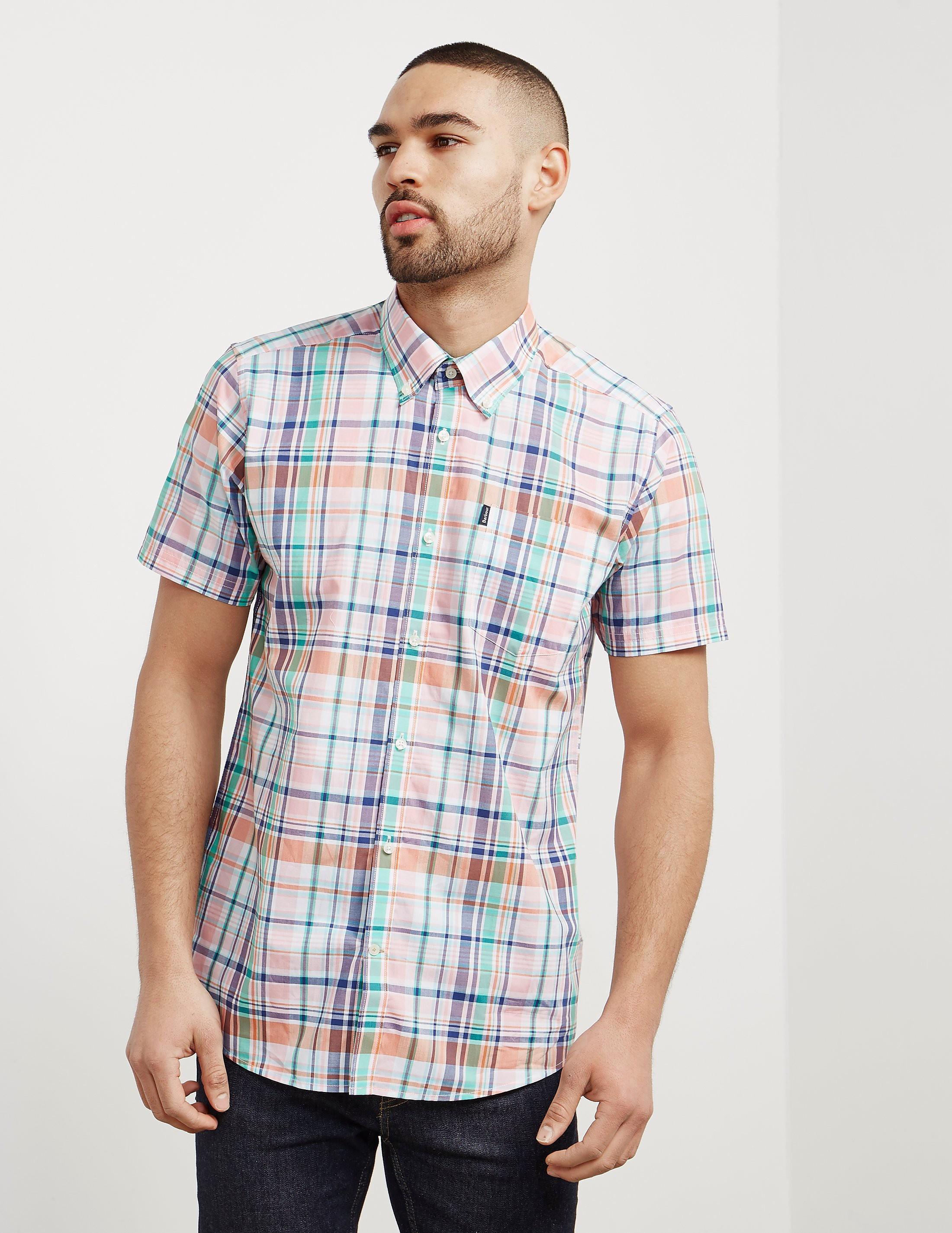 Barbour Gerald Madras Short Sleeve T-Shirt