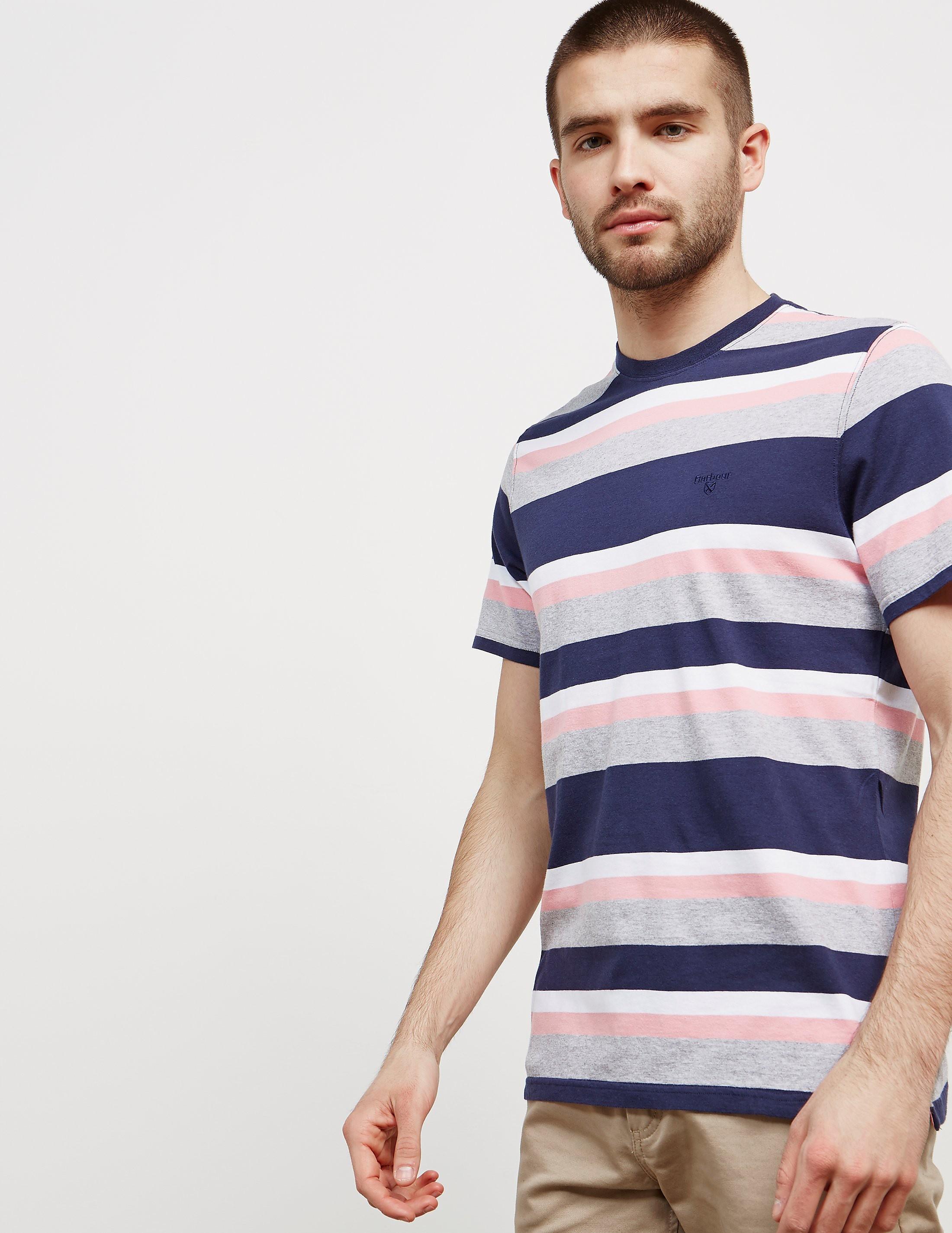 Barbour Foundry Stripe Short Sleeve T-Shirt