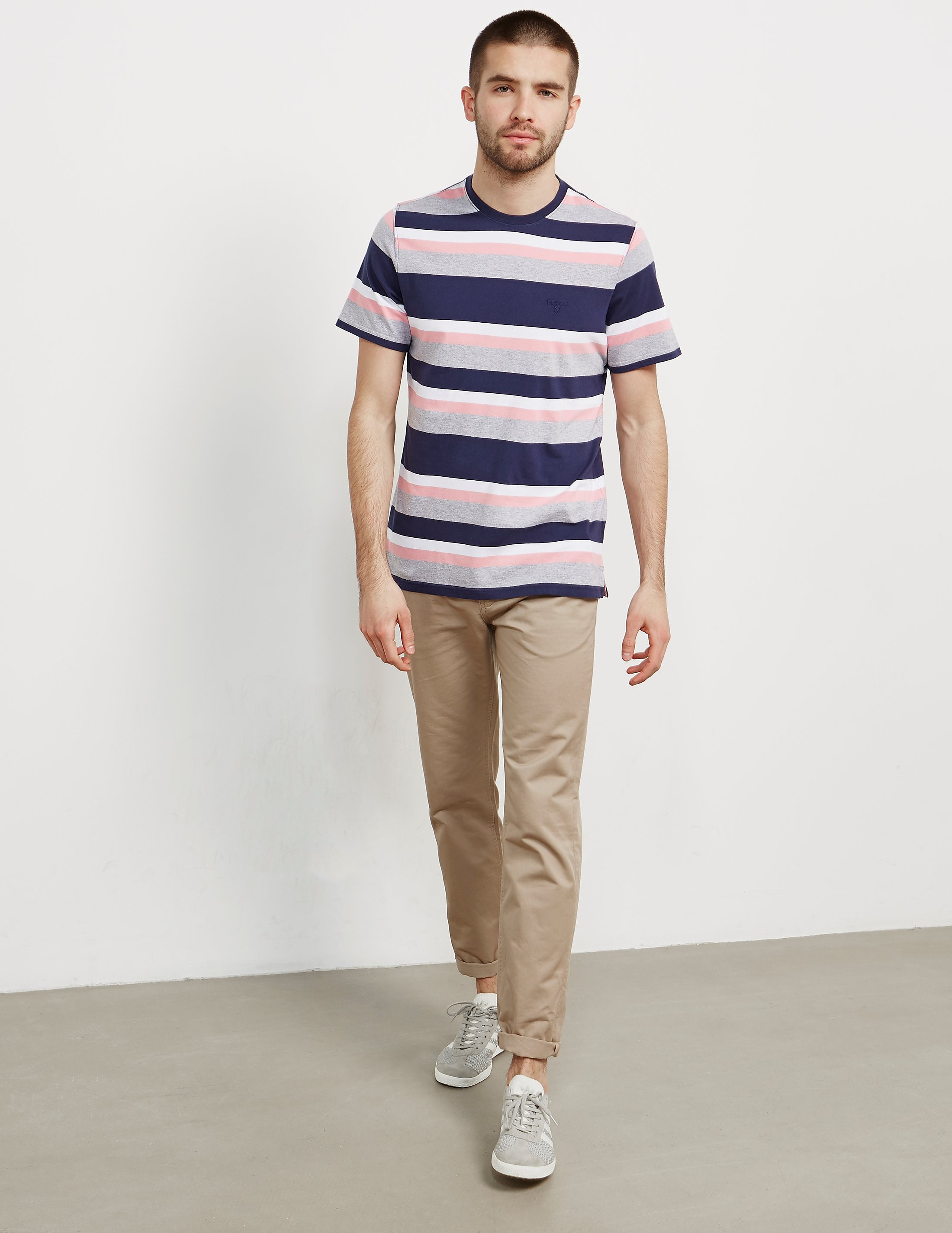 Barbour Foundry Stripe Short Sleeve T-Shirt
