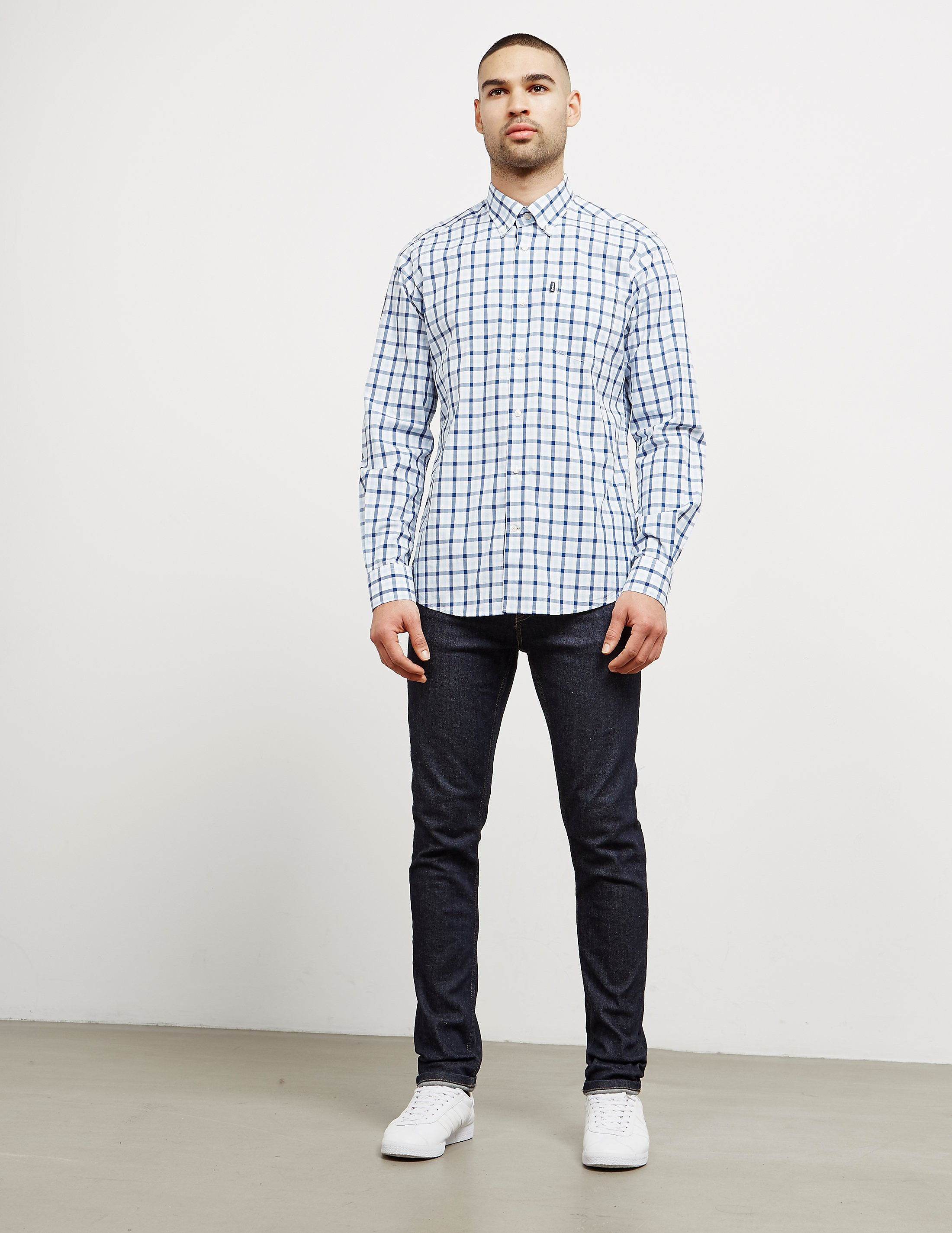 Barbour Gingham Check Long Sleeve Shirt