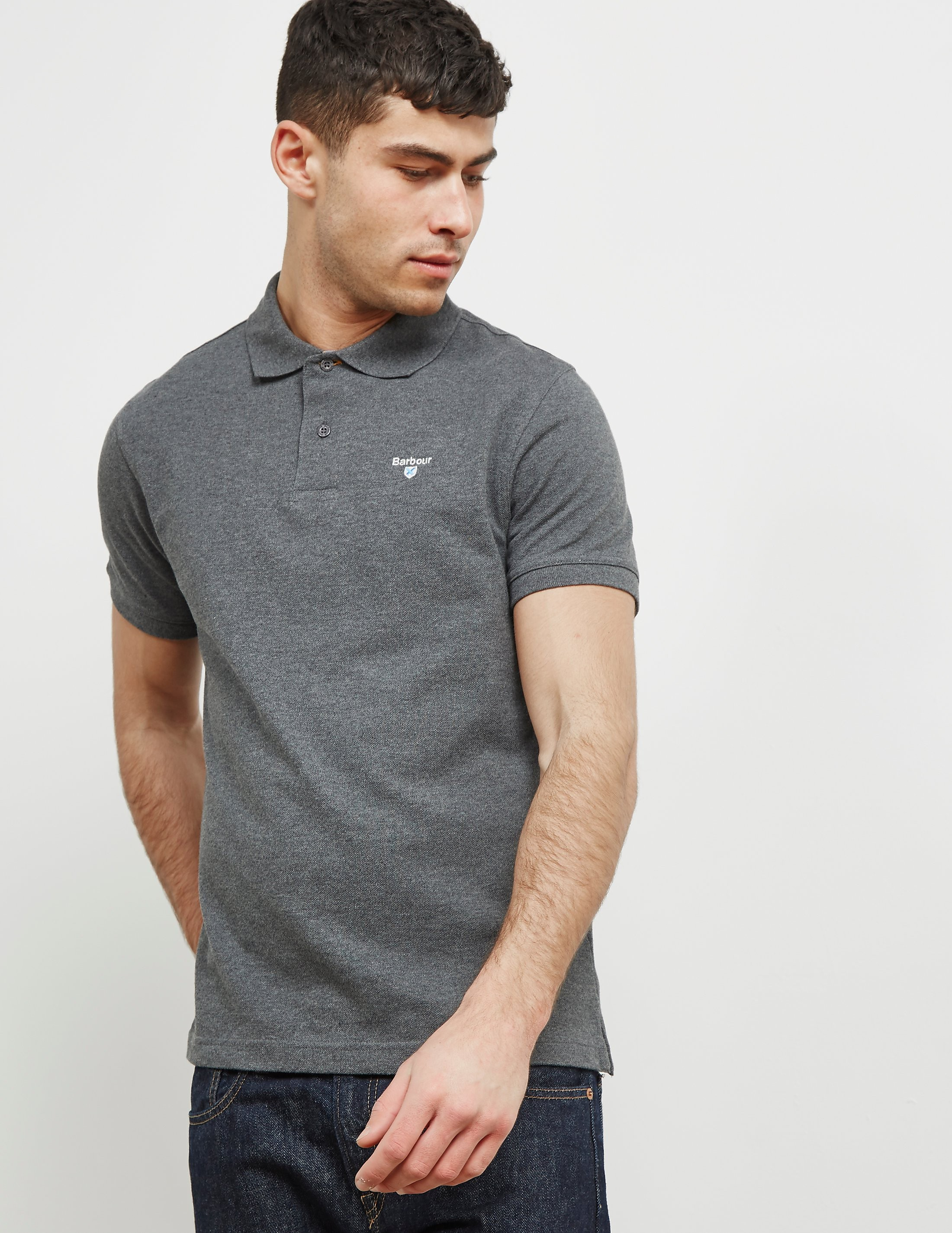 Barbour Pique Short Sleeve Polo Shirt