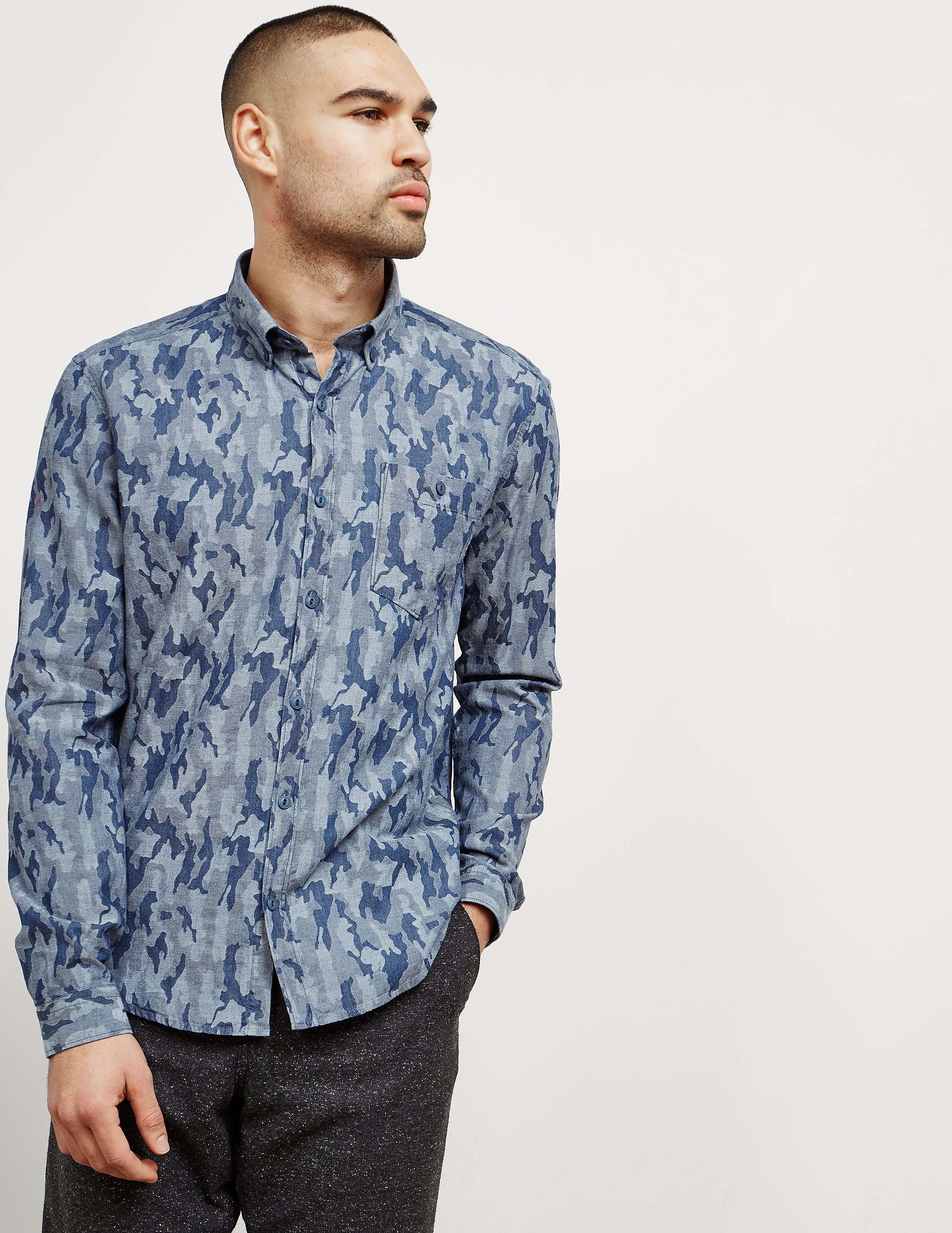 Barbour Camouflage Long Sleeve Shirt
