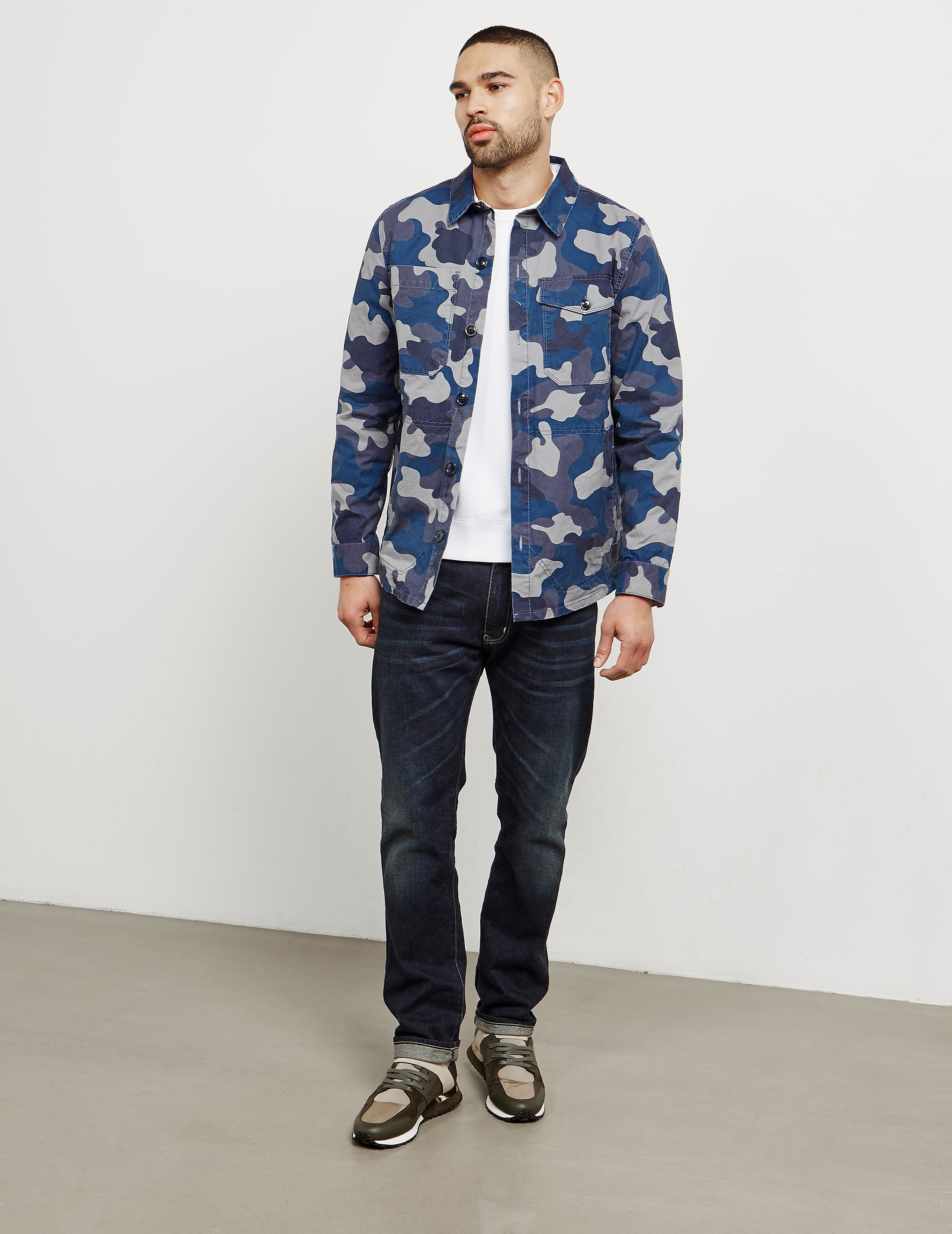 Barbour Camouflage Overshirt