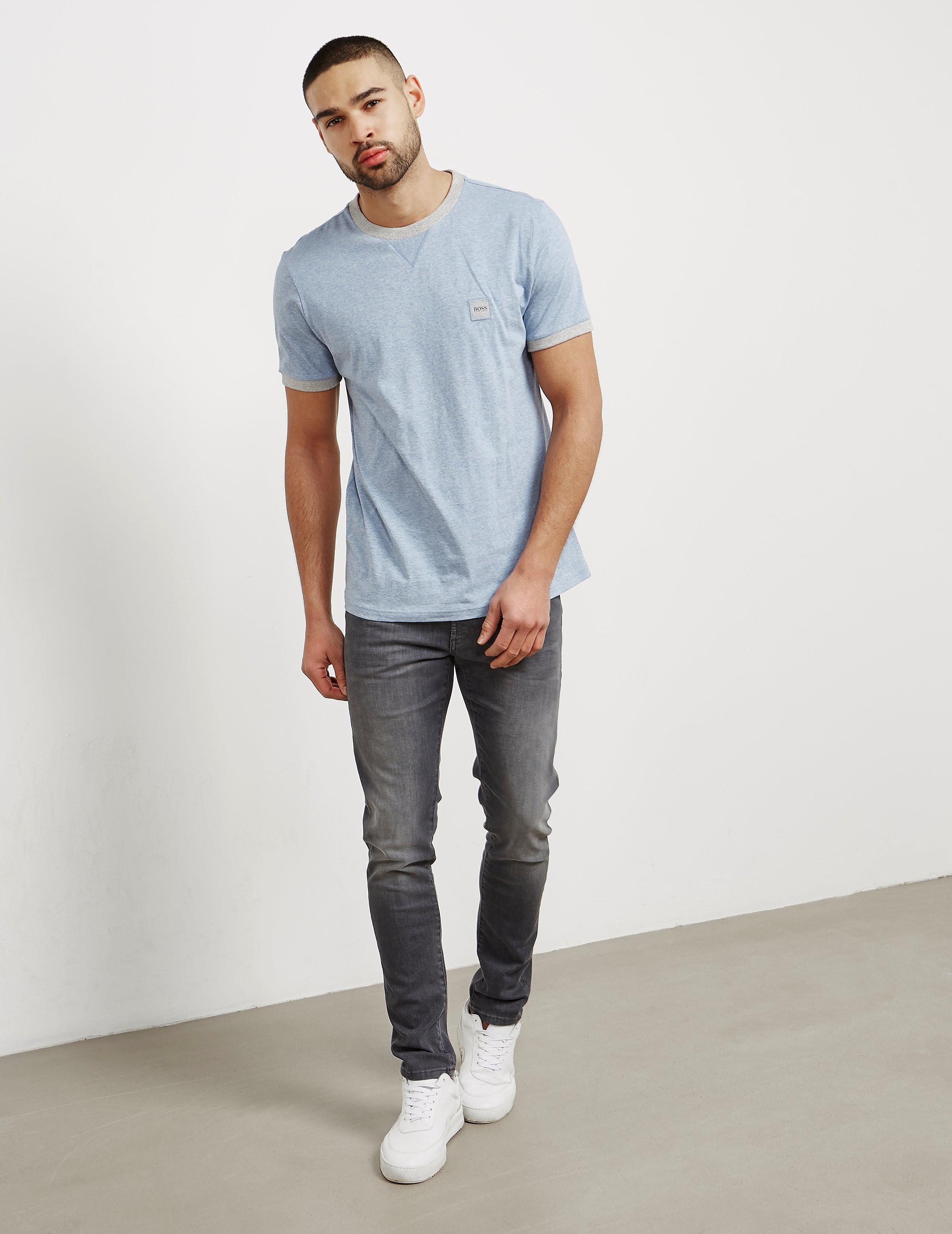 BOSS Orange Topical Ringer Short Sleeve T-Shirt