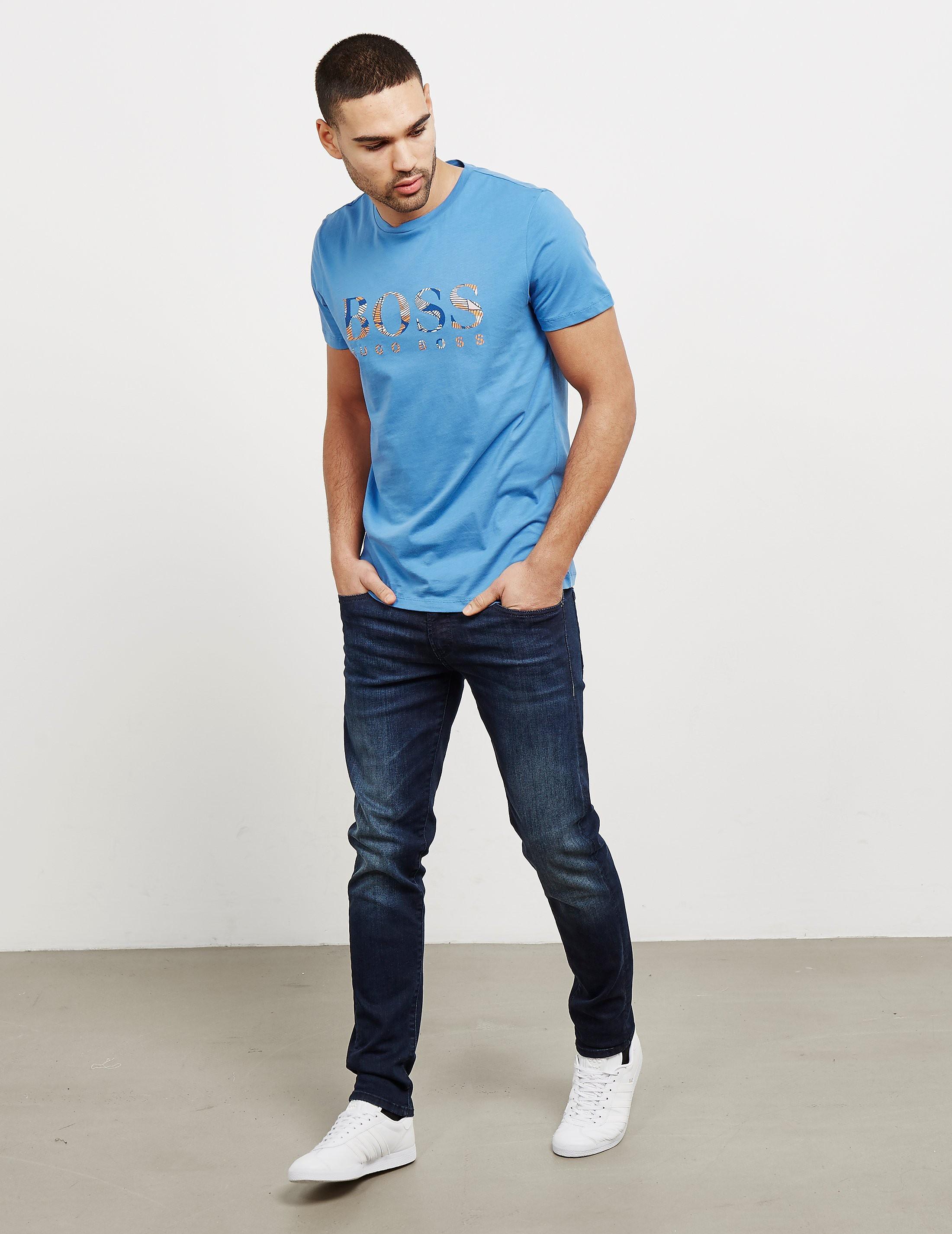 BOSS Tauno7 Palm Short Sleeve T-Shirt